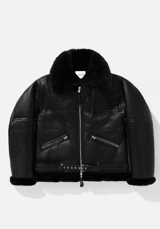 MKI CLASSIC SHEEPSKIN FLIGHT JACKET