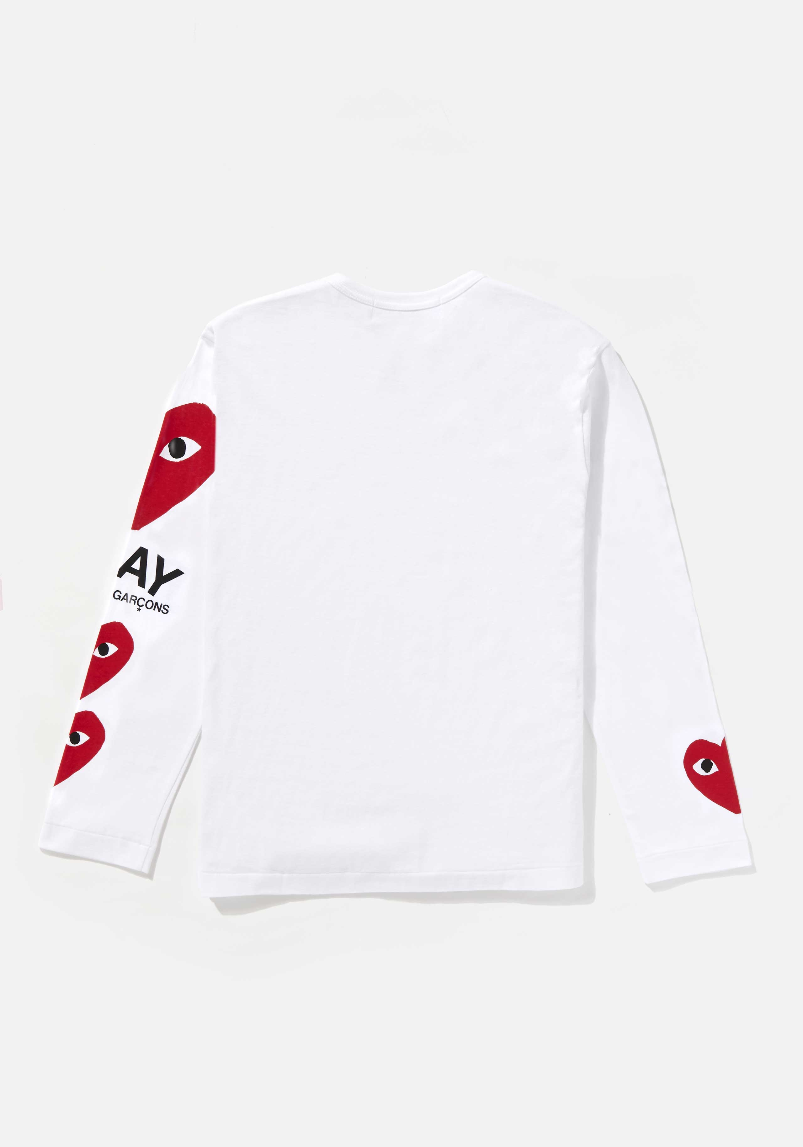 comme des garcons play 4 heart long sleeve 2