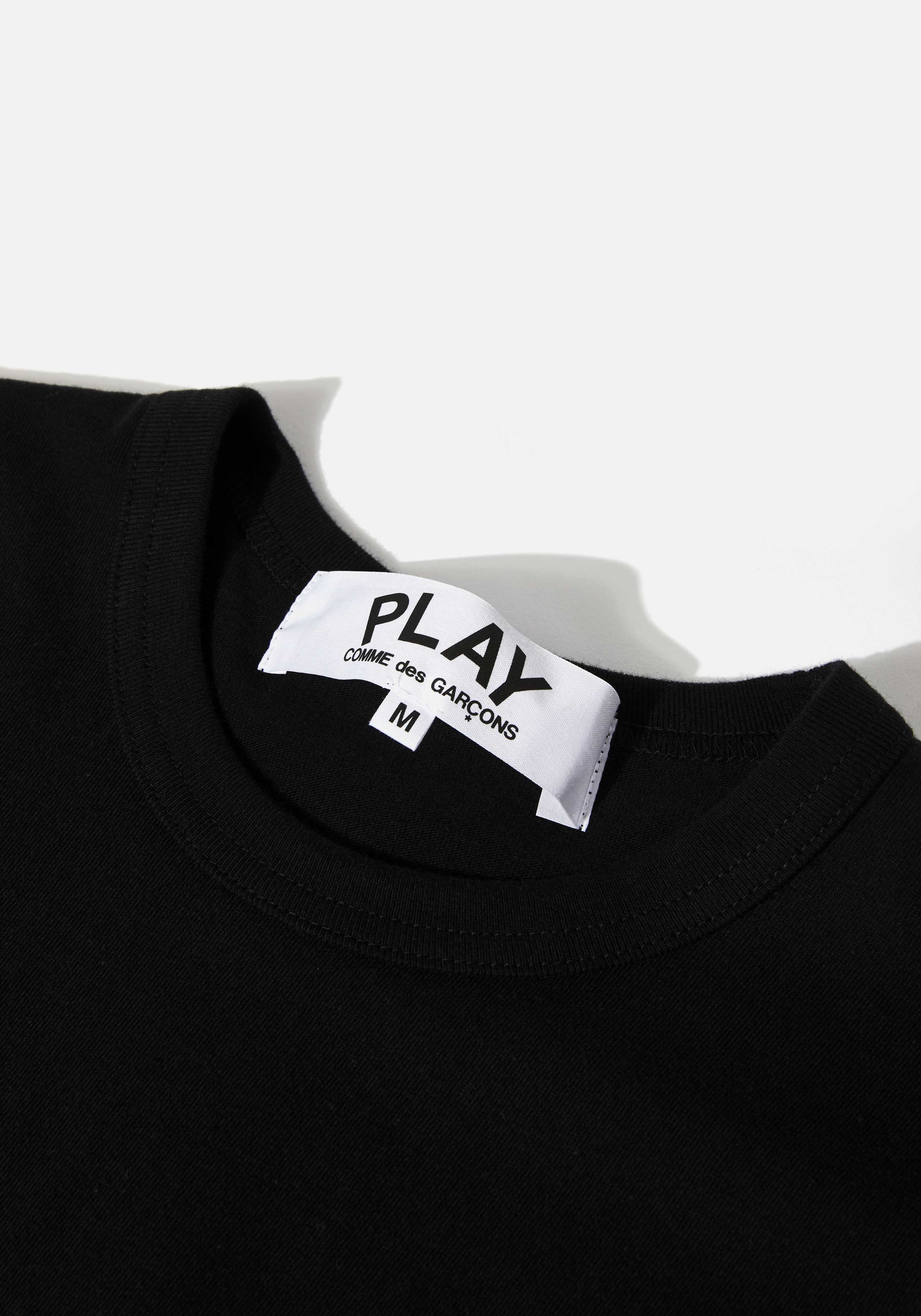 comme des garcons play black heart long sleeve 3