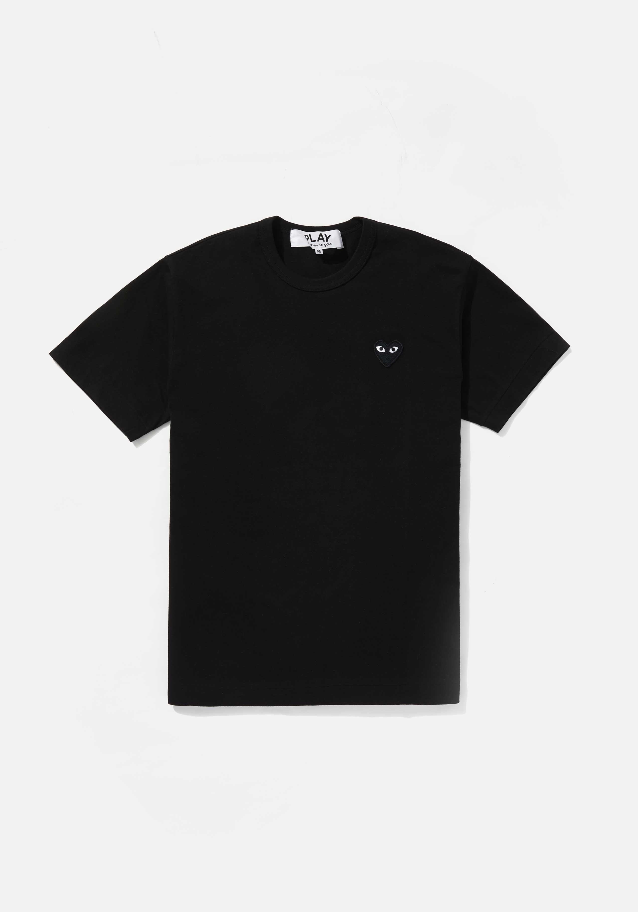 comme des garcons play black heart tee 1