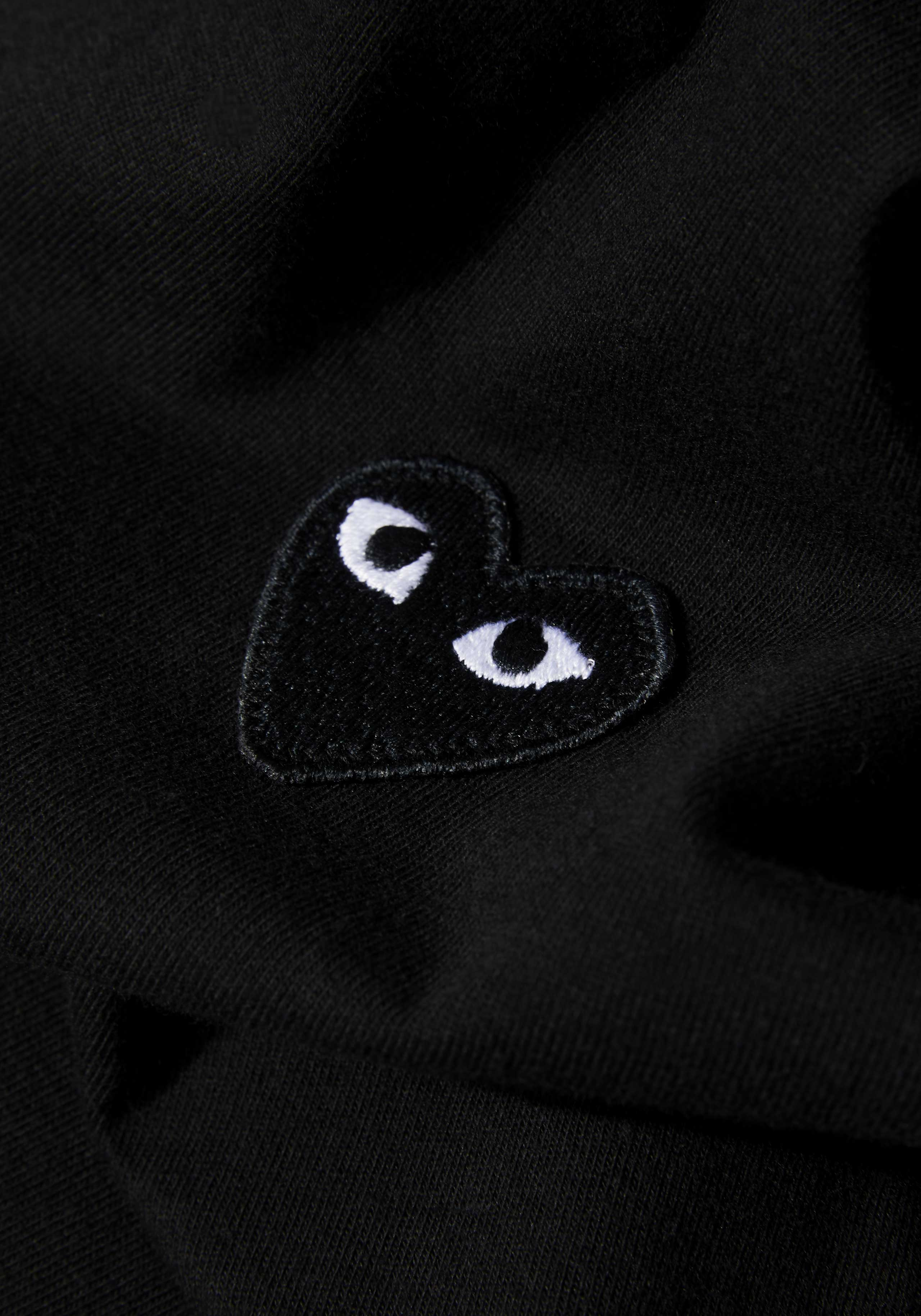 comme des garcons play black heart tee 5