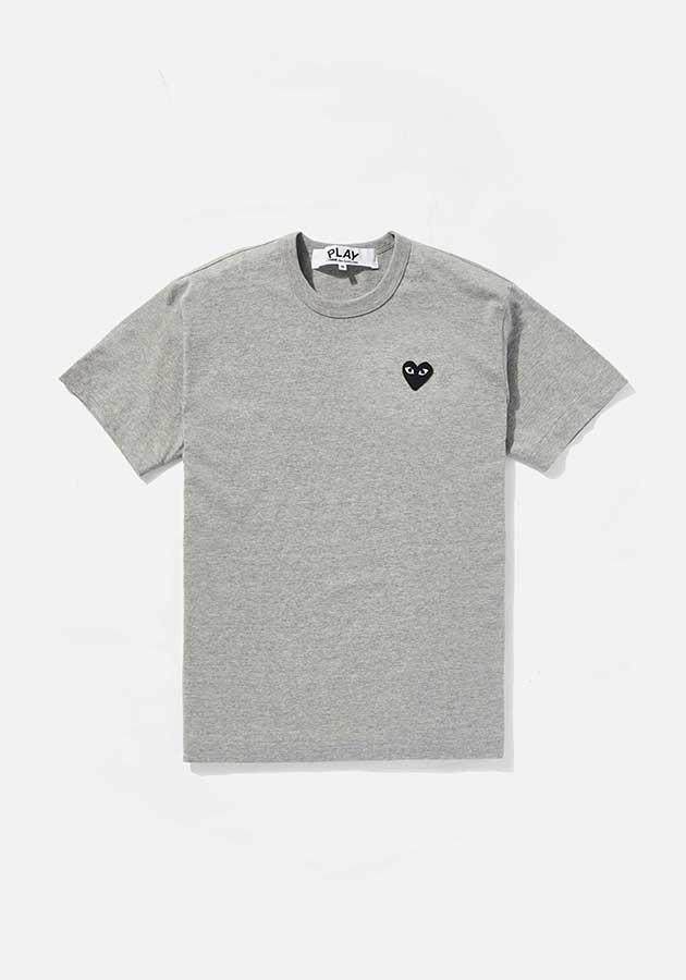 comme des garcons play black heart tee