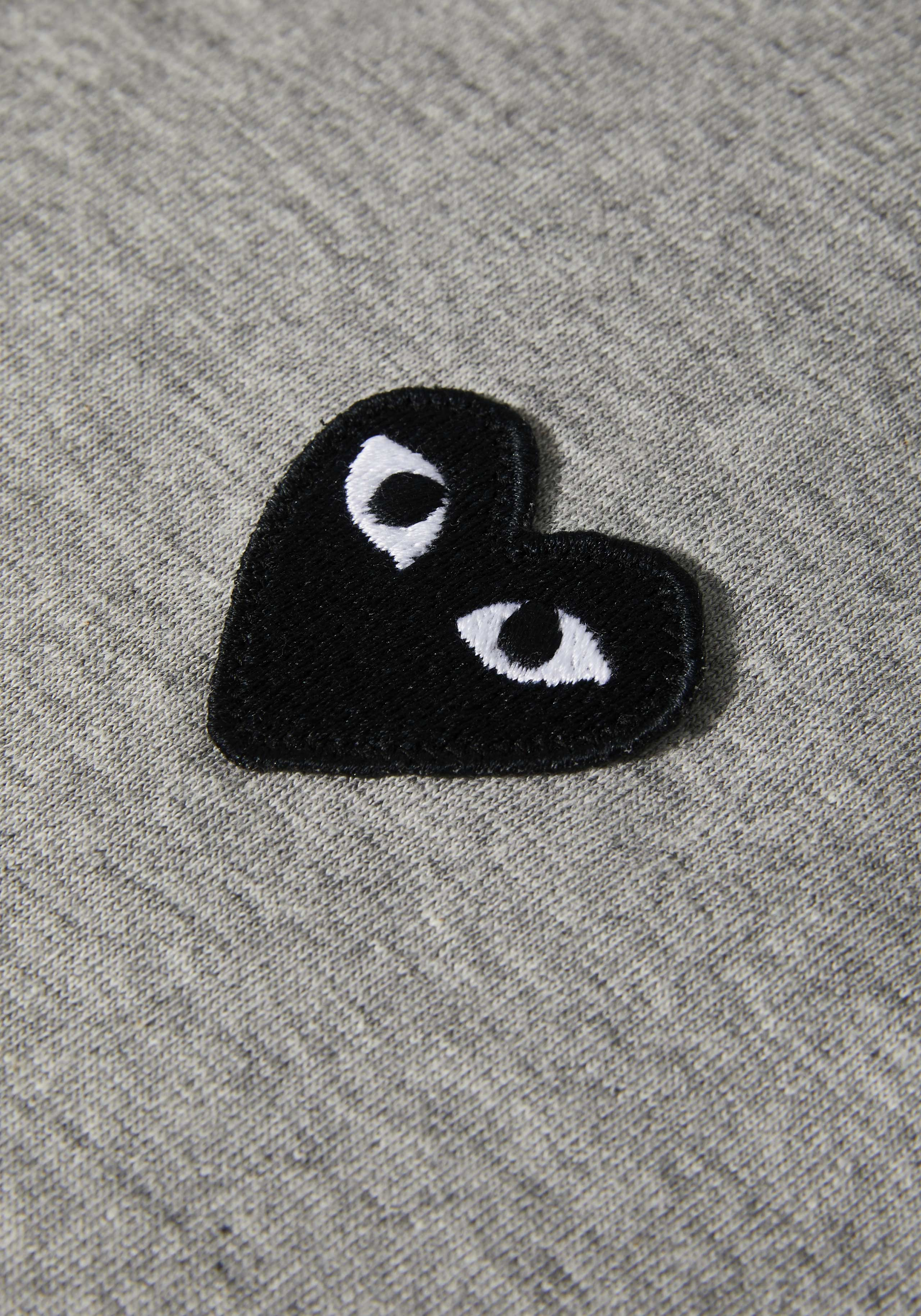 comme des garcons play black heart tee 4