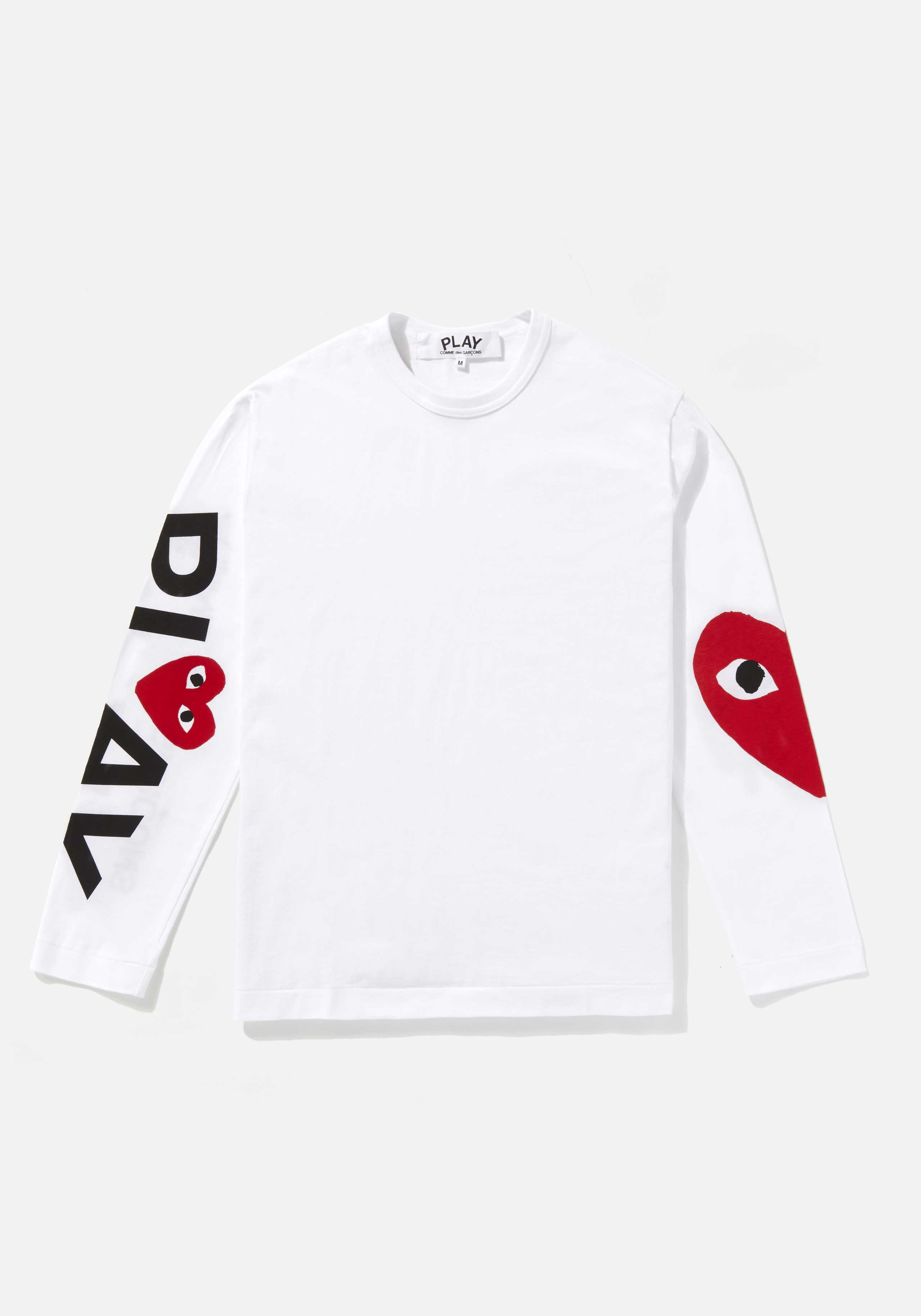 comme des garcons play big heart long sleeve  1