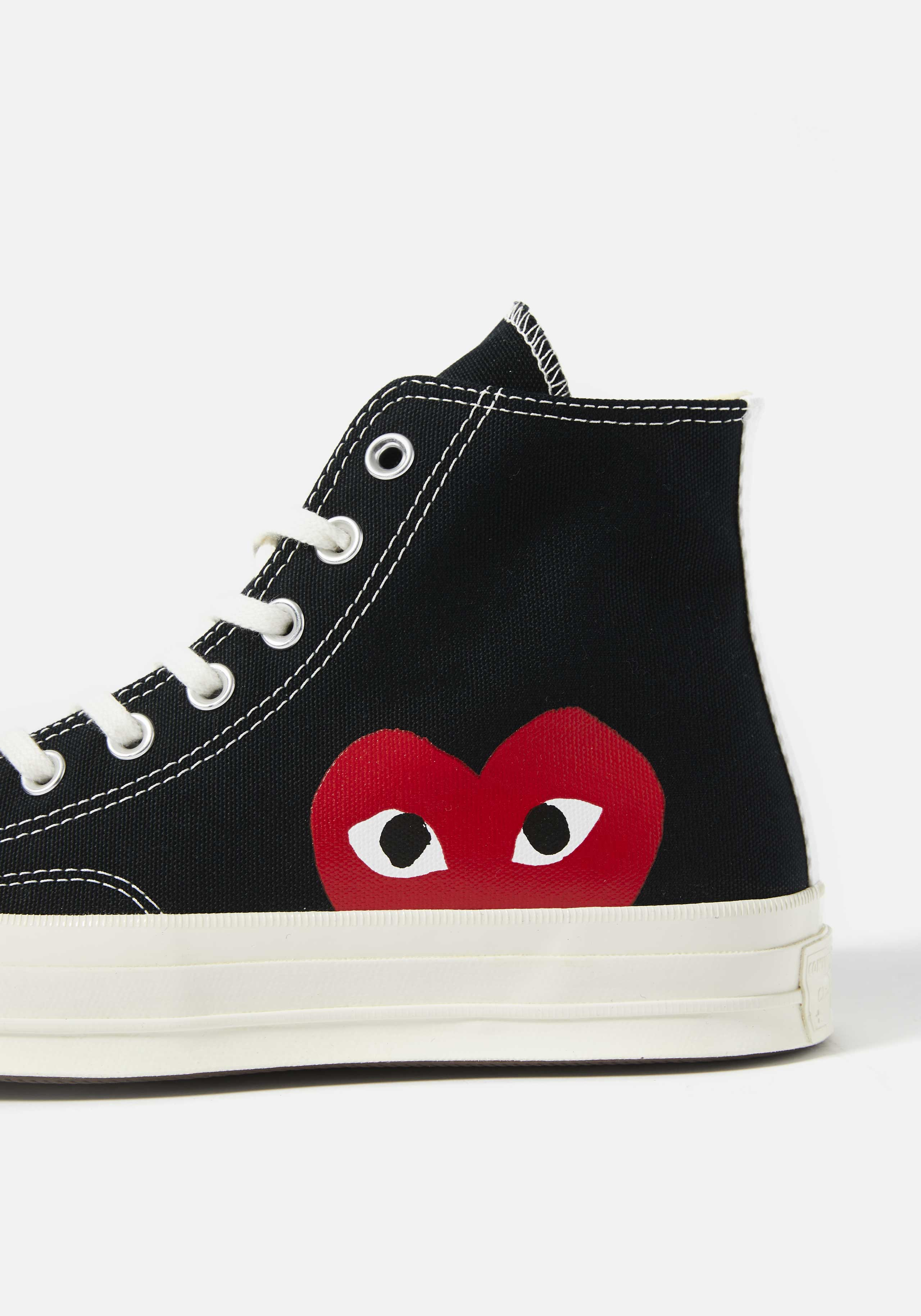 cdg play converse red heart 70s high 4