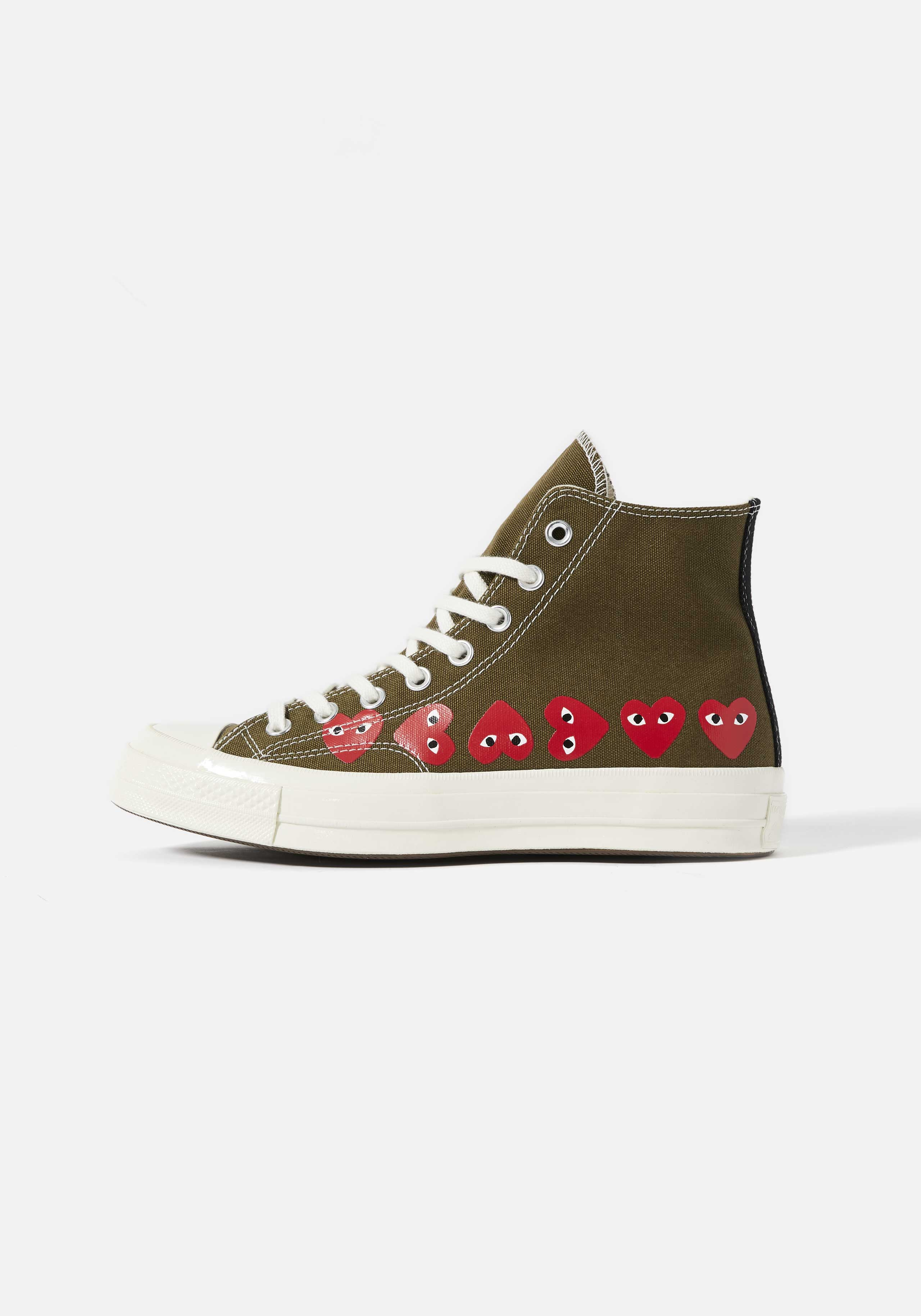 cdg play converse multi heart 70's high 1