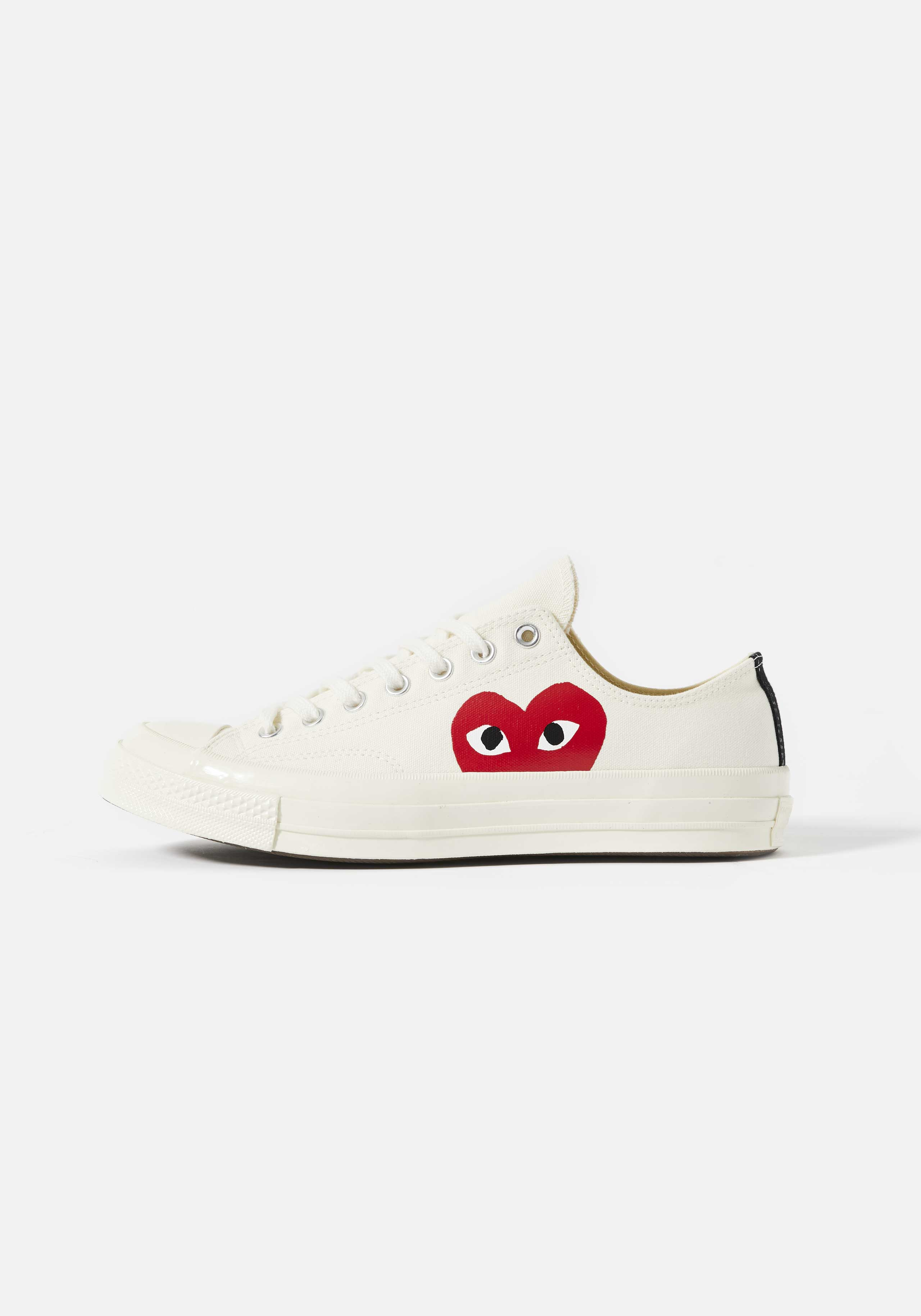 cdg play converse red heart 70s low 1