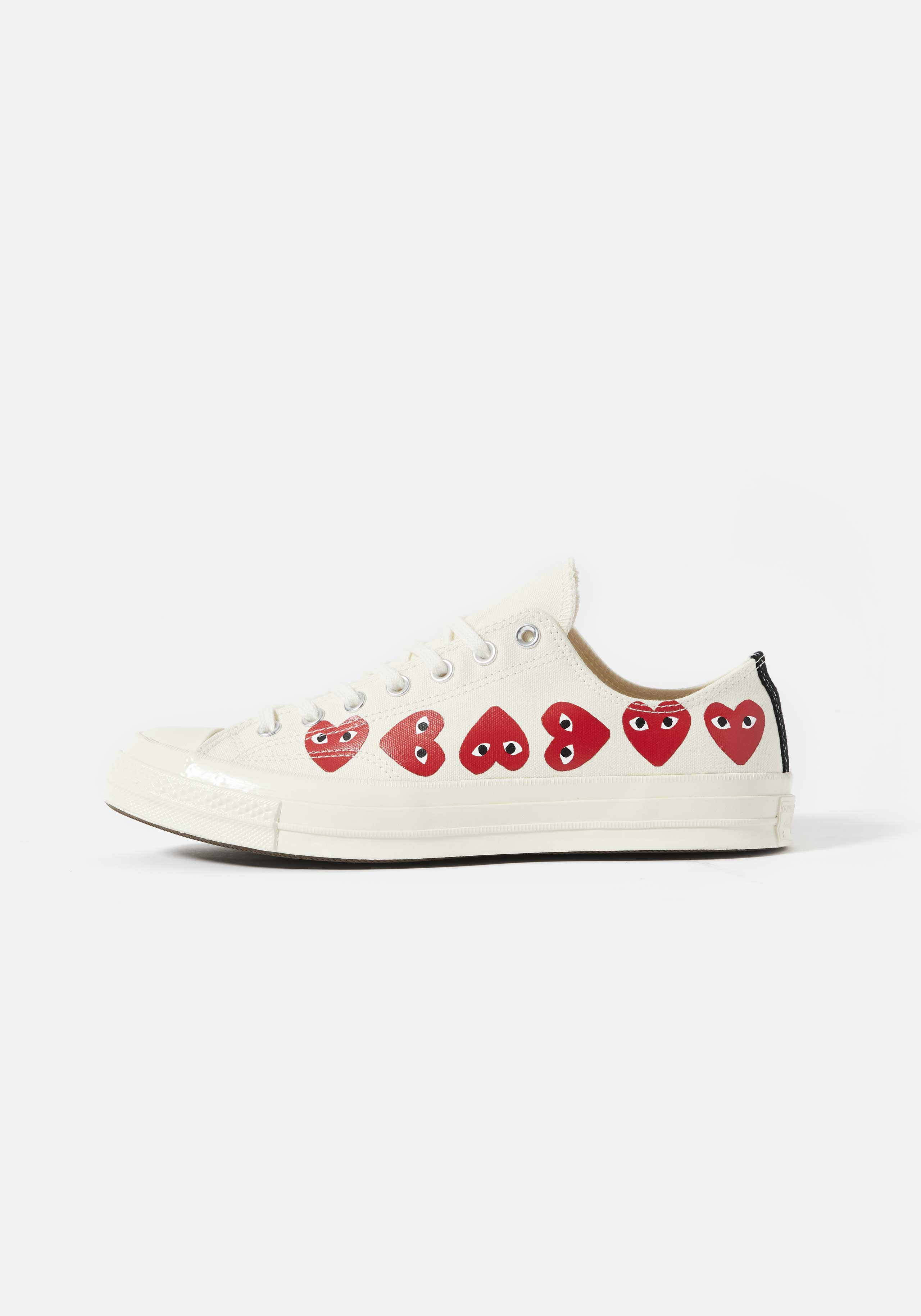 cdg play converse multi heart 70's low 1