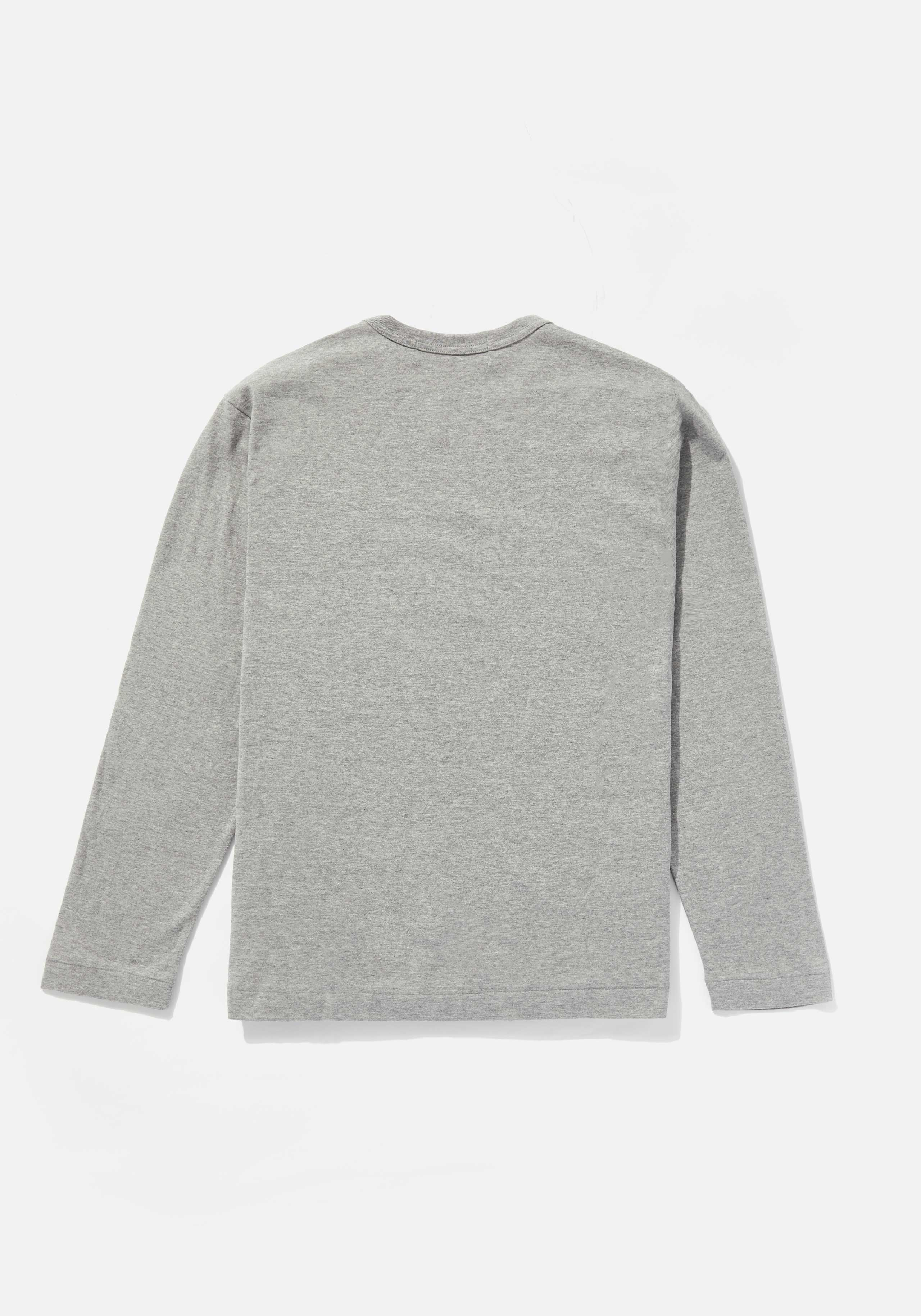 comme des garcons play big heart long sleeve  2