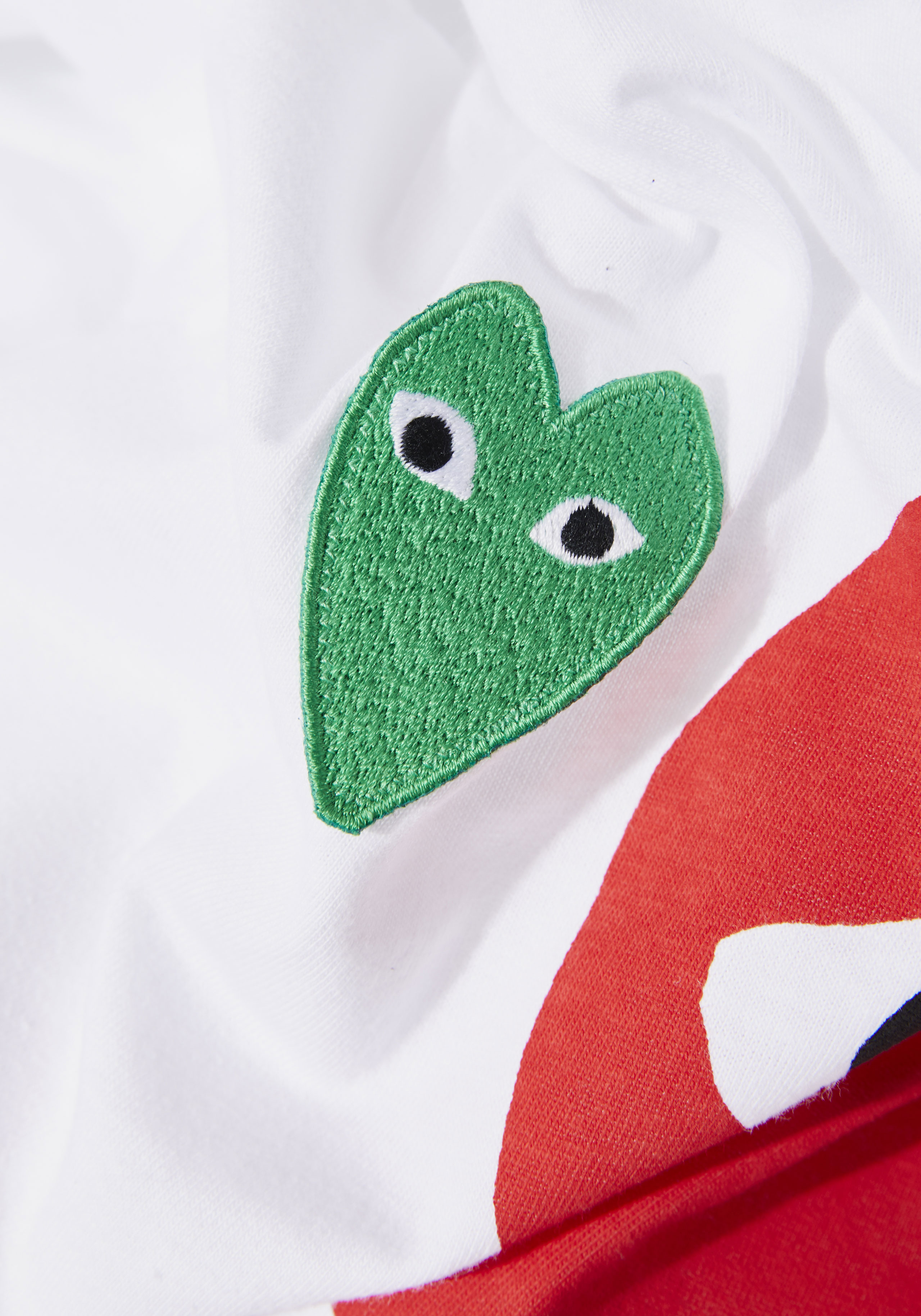 comme des garcons play GRAPHIC red heart tee 5
