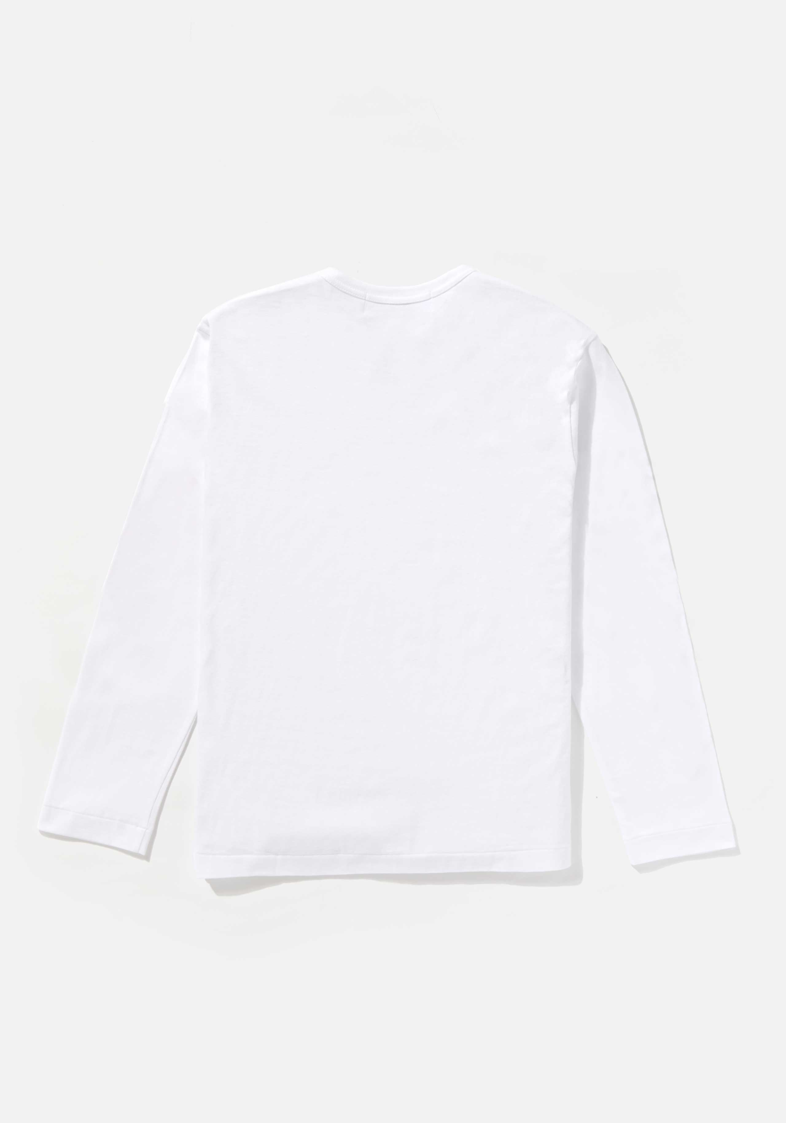 comme des garcons play red heart long sleeve 2