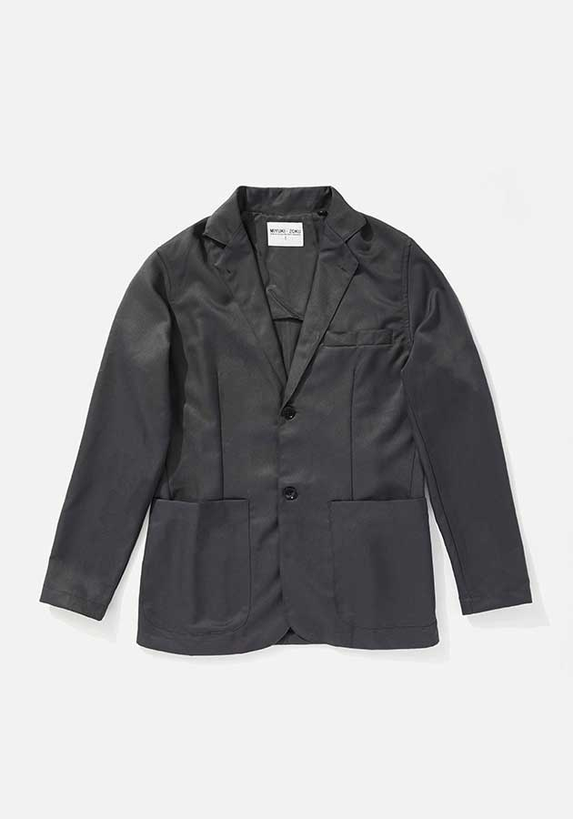 mki unstructured casual suit blazer