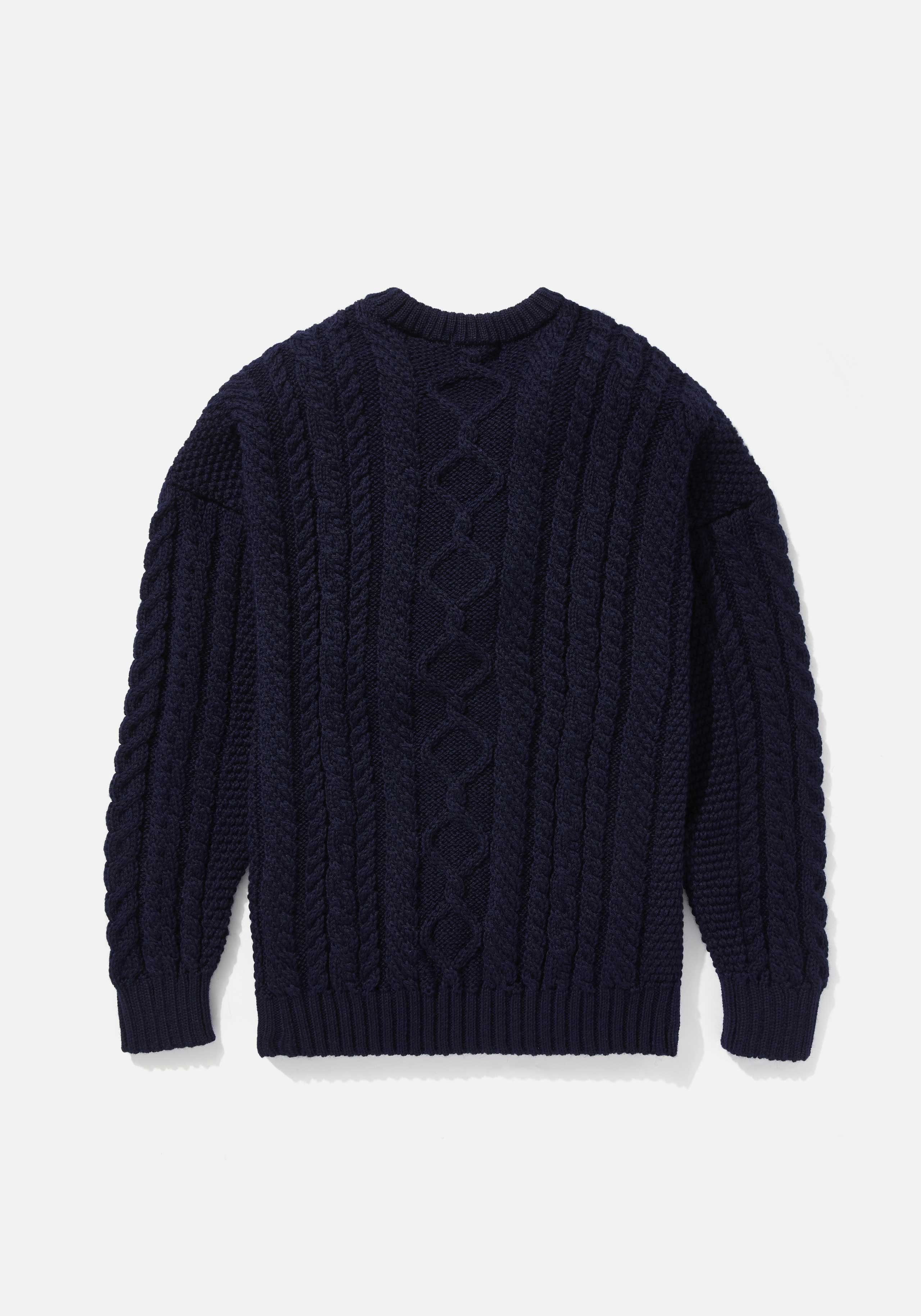 mki aran knit sweater 2