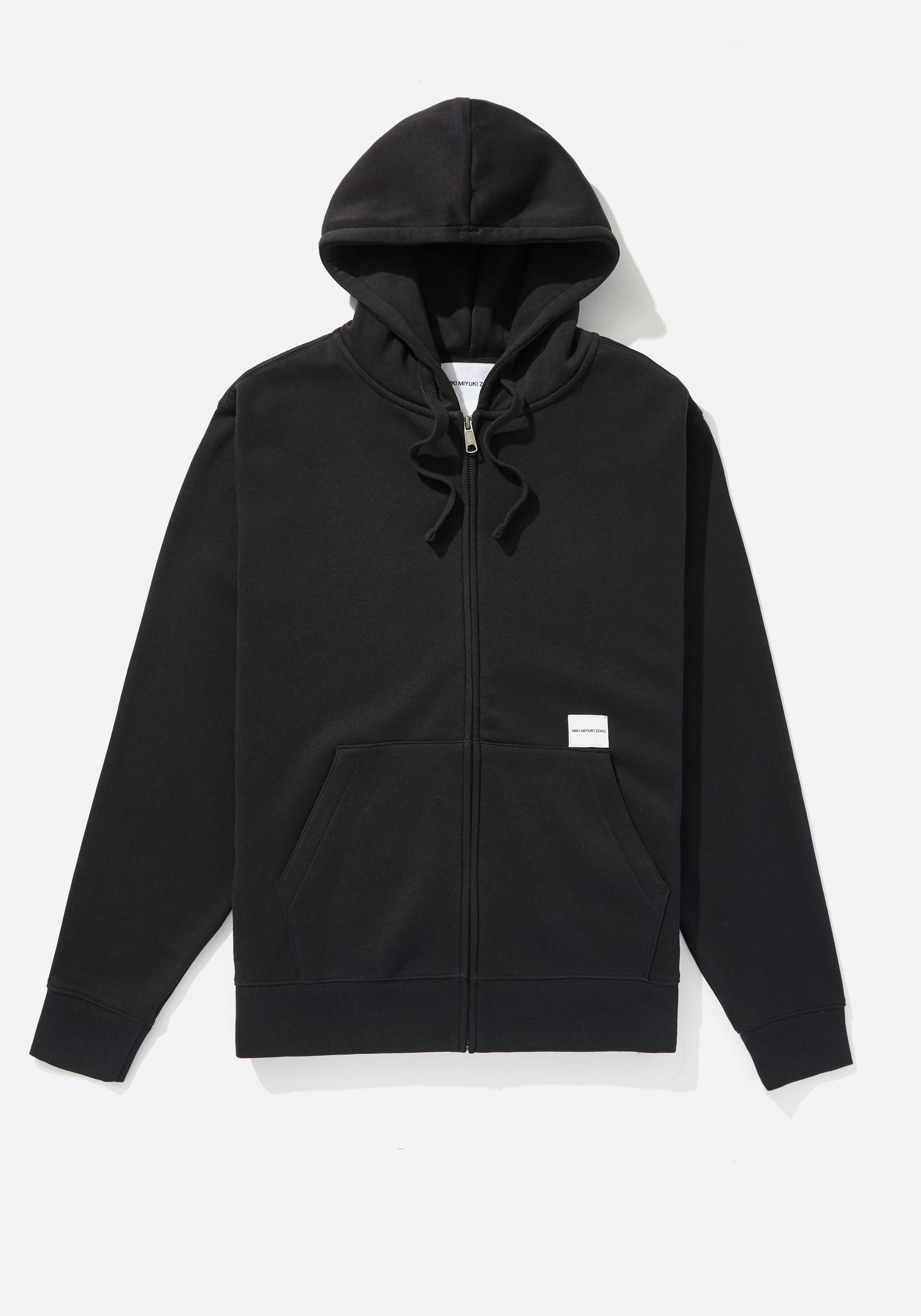 mki relaxed basic zip hoody 1