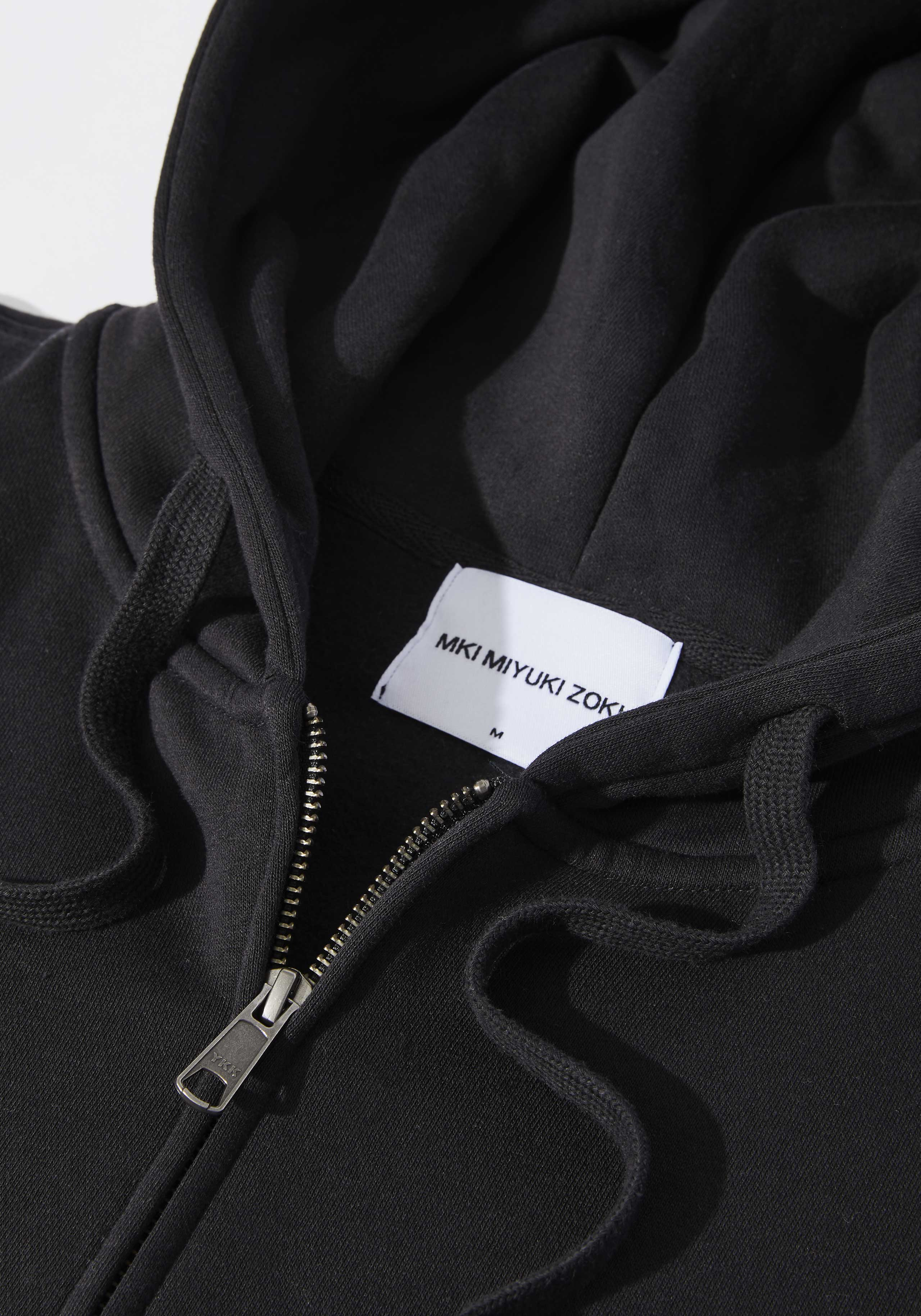 mki relaxed basic zip hoody 3