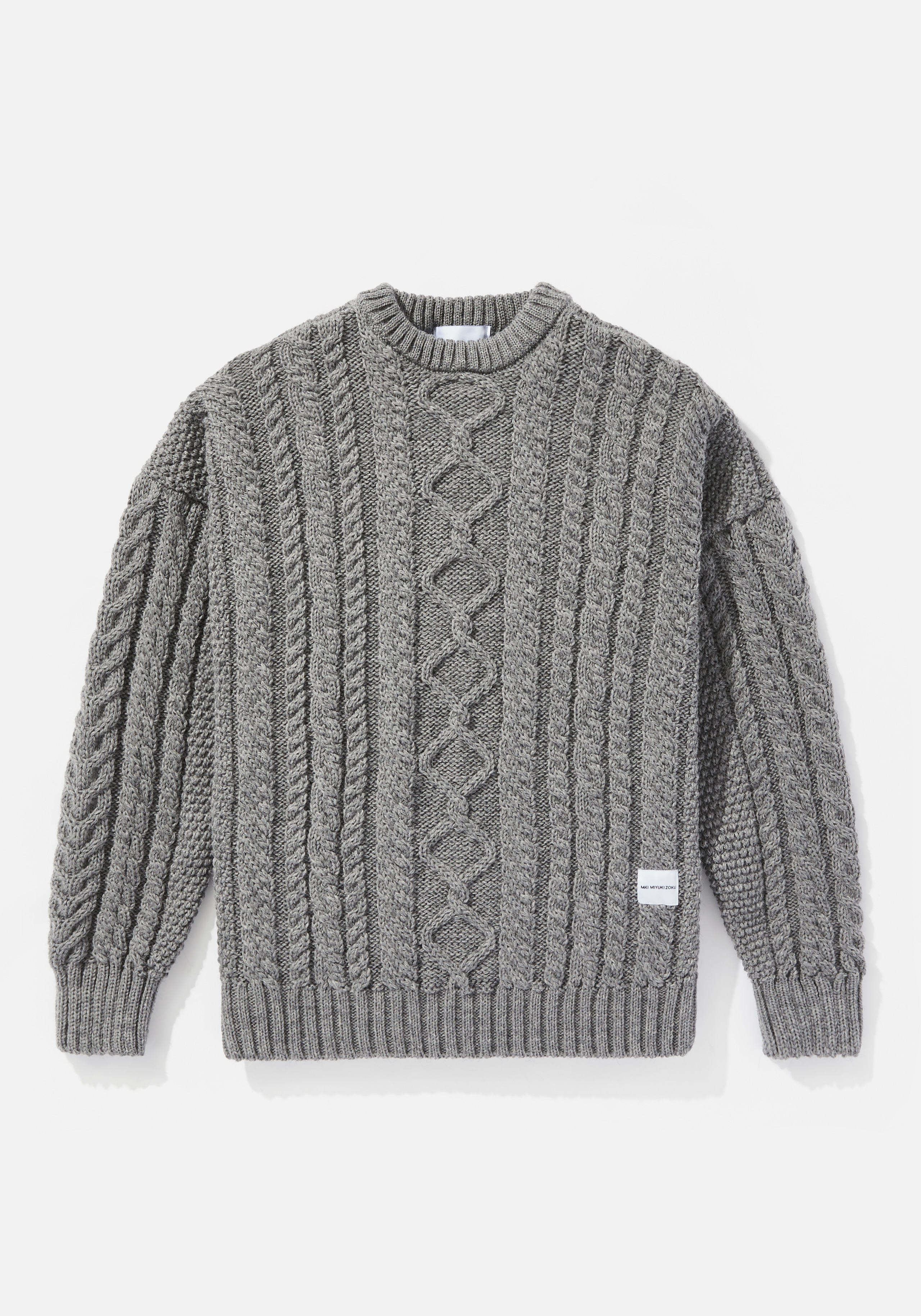 mki aran knit sweater 1