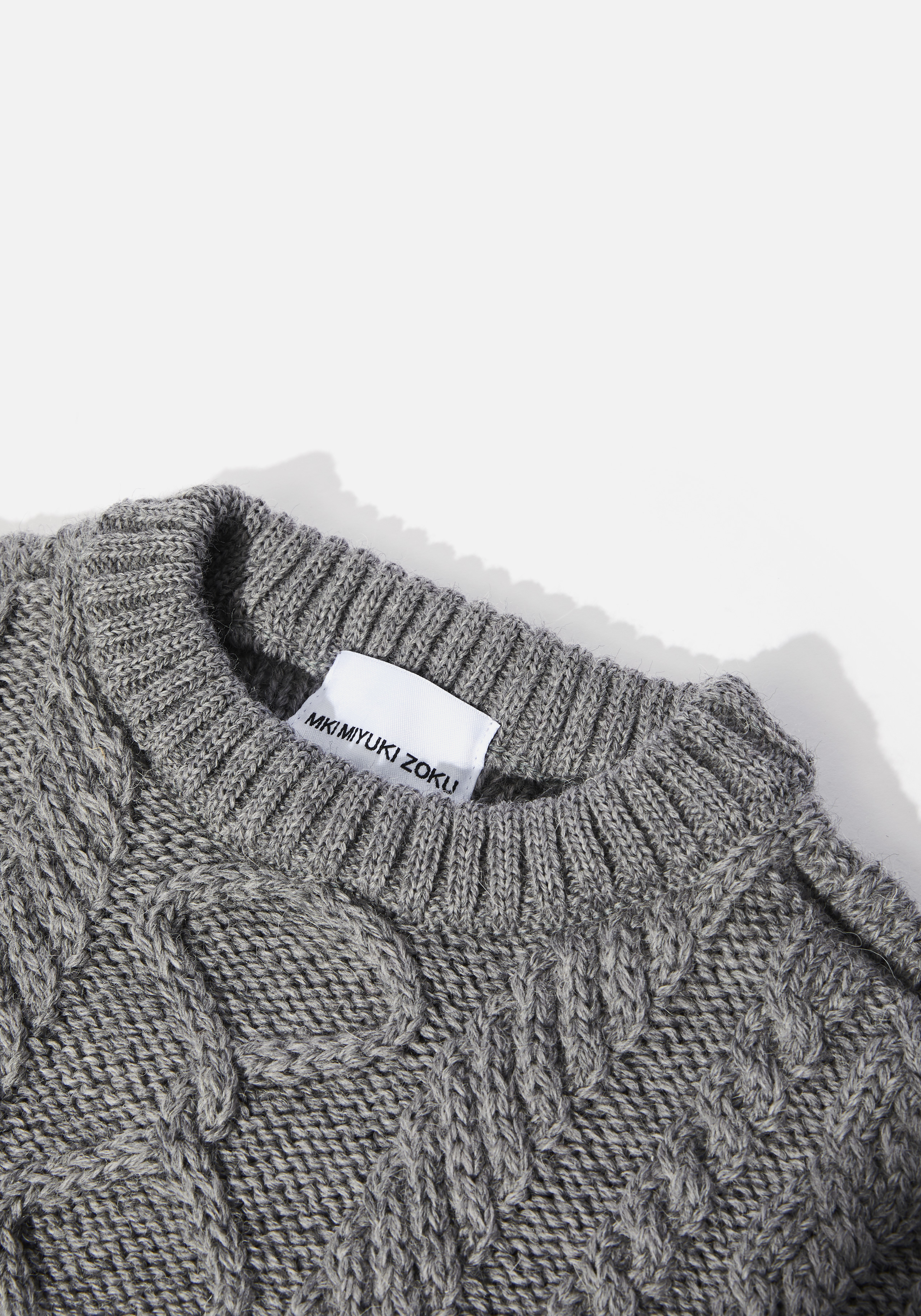 mki aran knit sweater 3