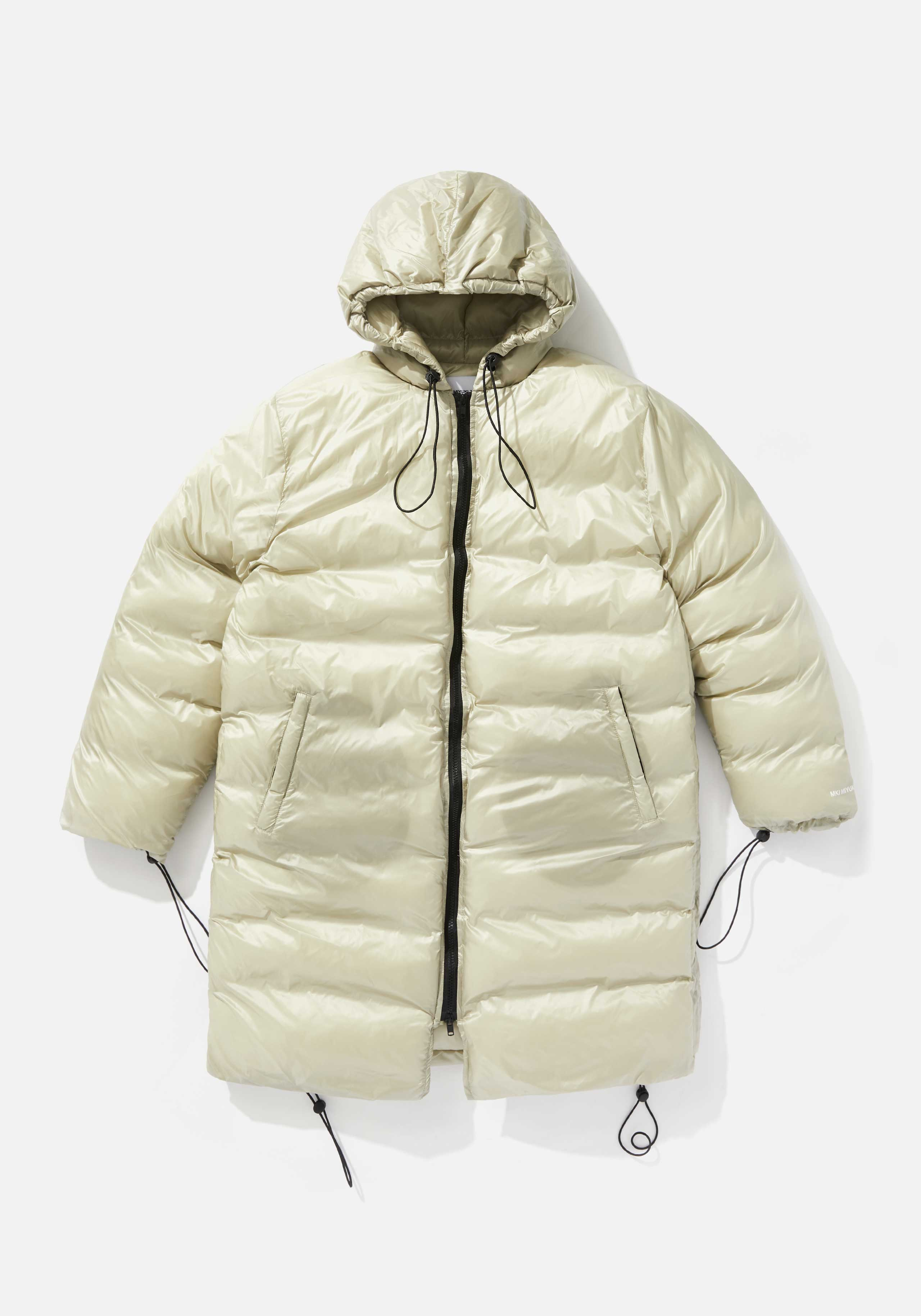 mki long hooded bubble jacket 1