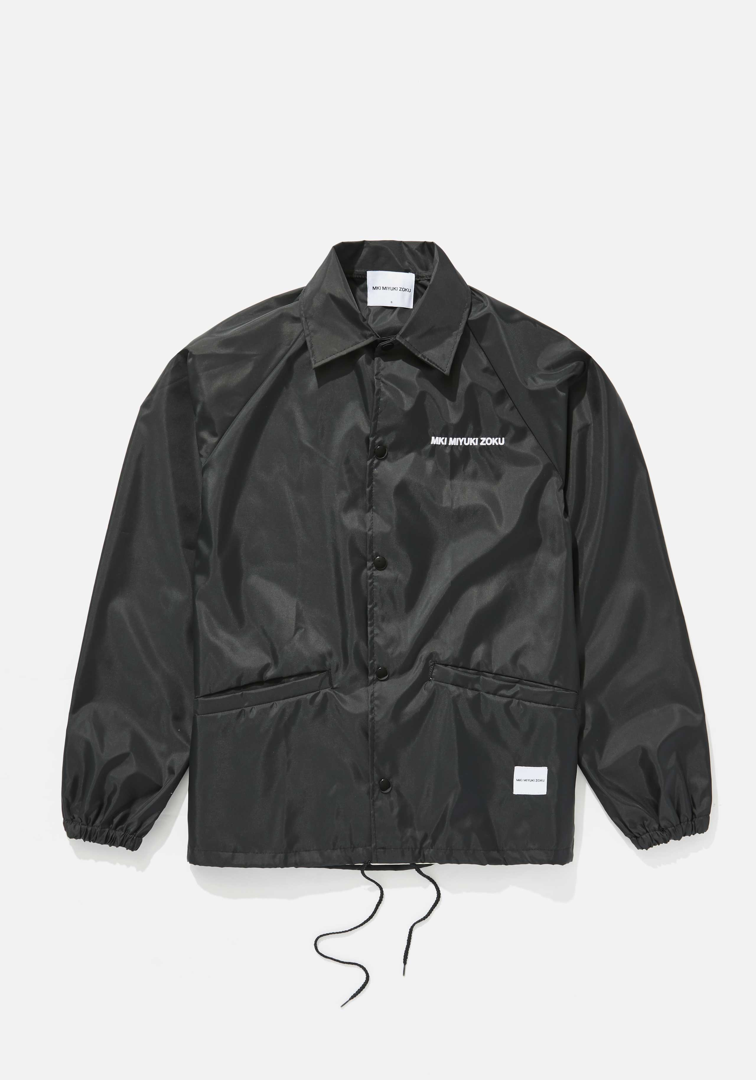 MKI CHEST EMB. FRONT POCKET COACH JACKET 1