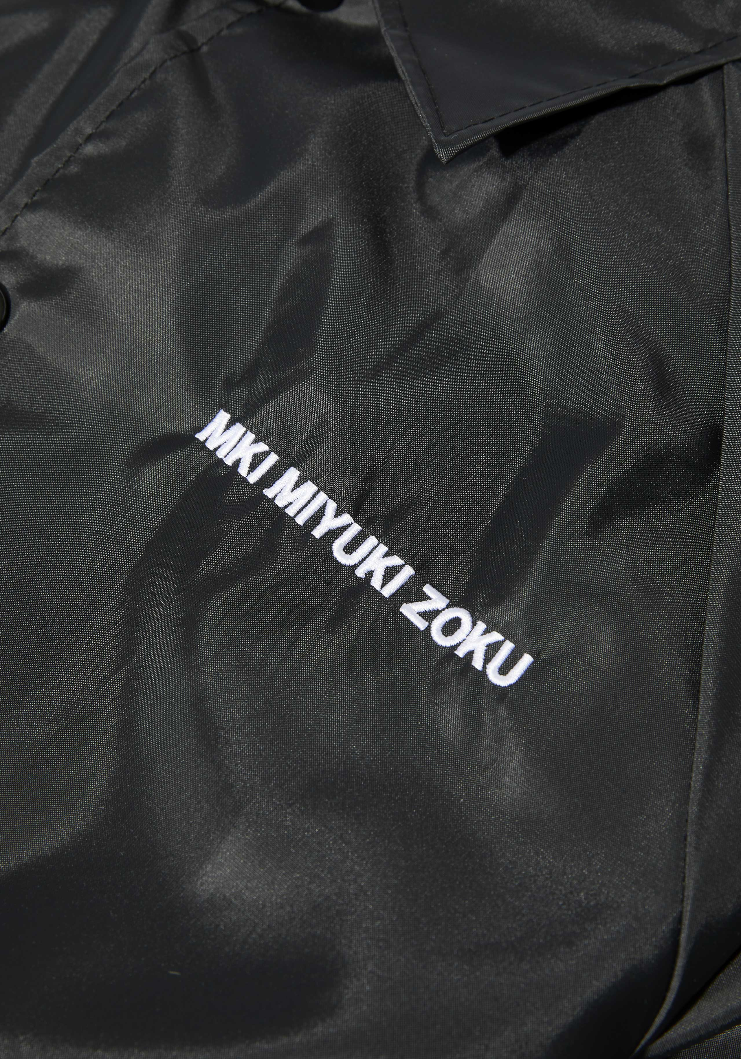 MKI CHEST EMB. FRONT POCKET COACH JACKET 4
