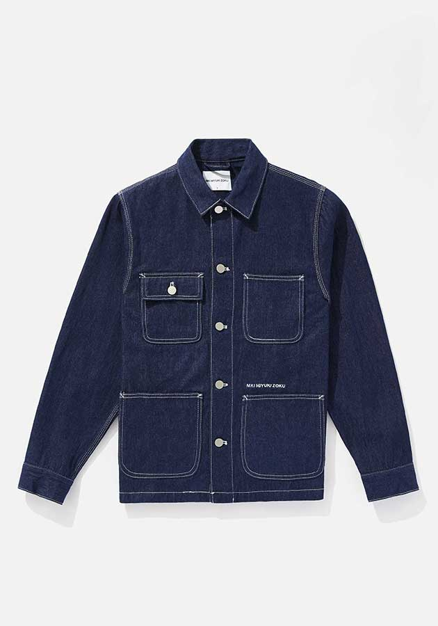 mki denim chore jacket