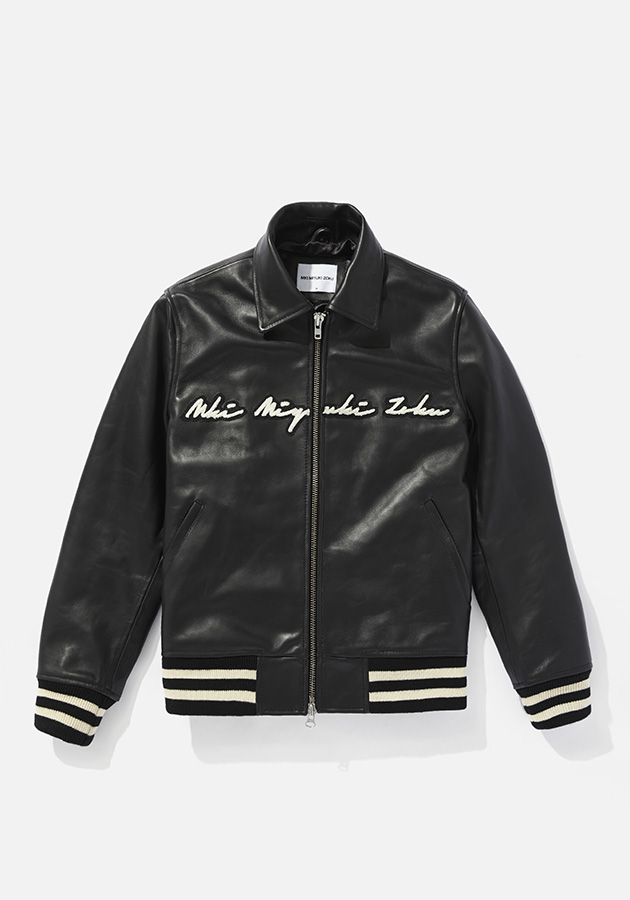 mki full leather rider varsity