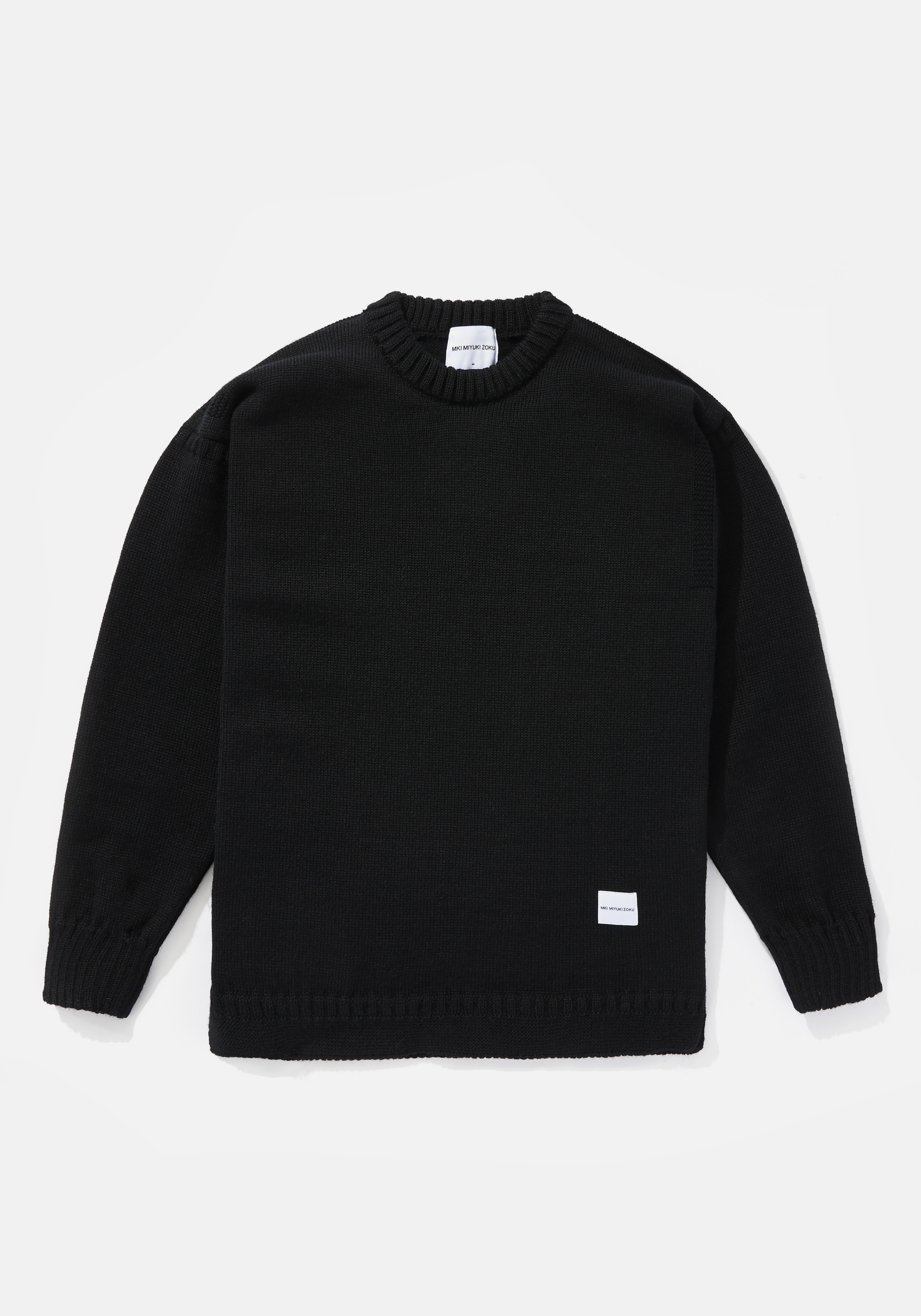 mki crew knit sweater 1