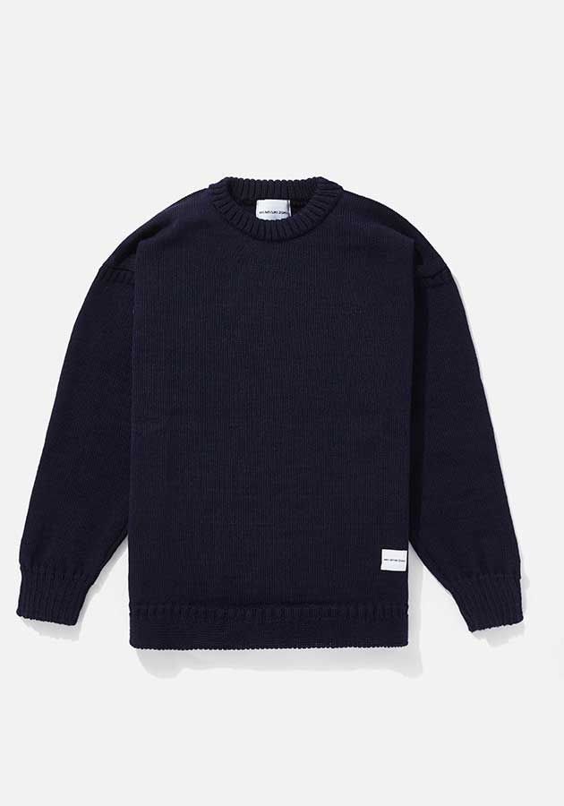 mki crew knit sweater