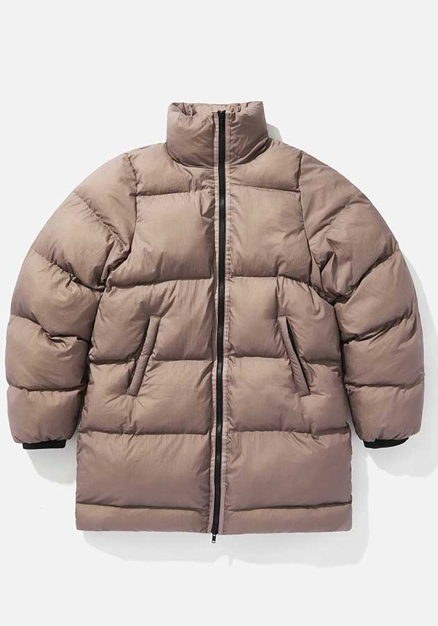 mki long bubble jacket