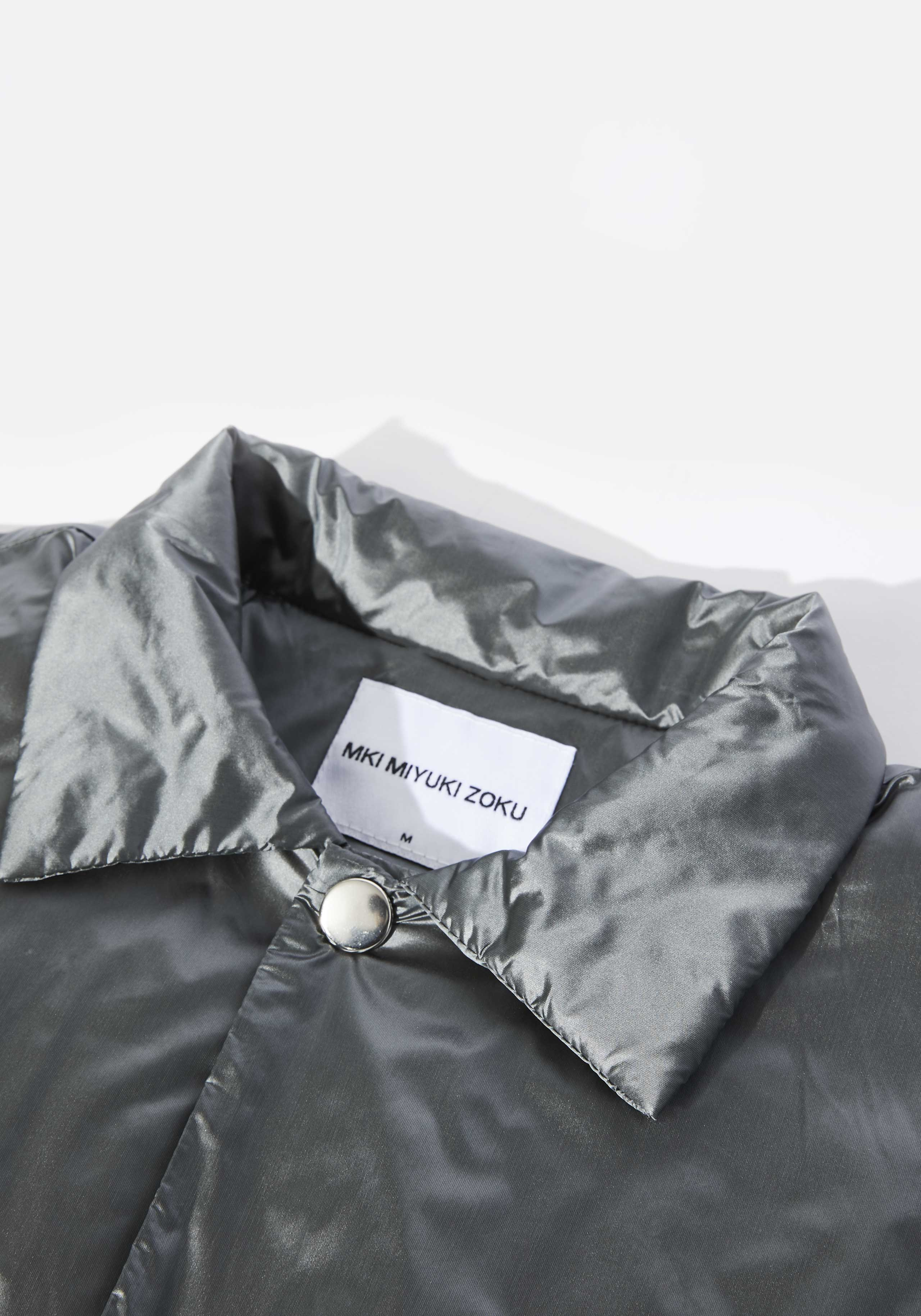 mki padded nylon coach jacket 3