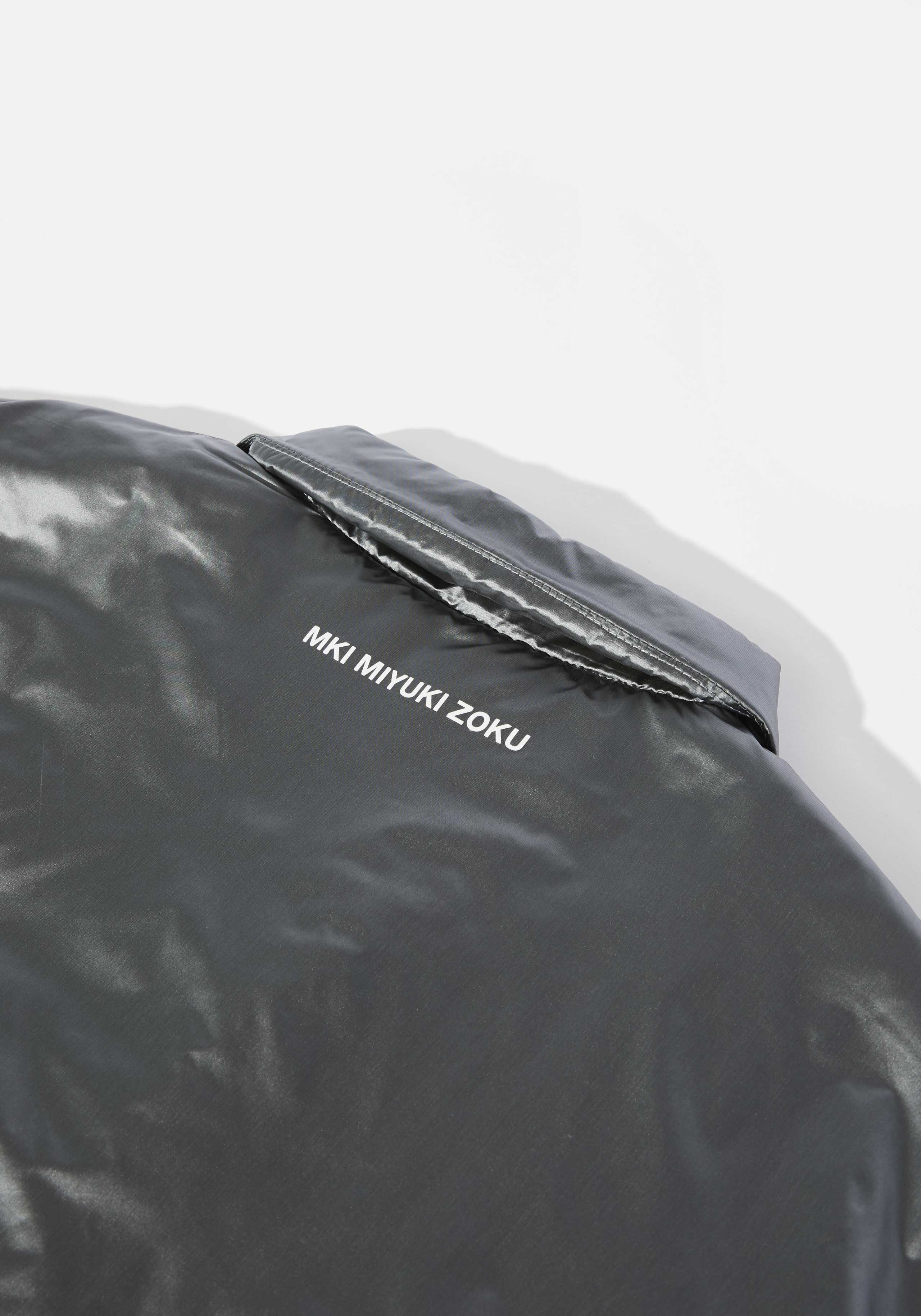 mki padded nylon coach jacket 4