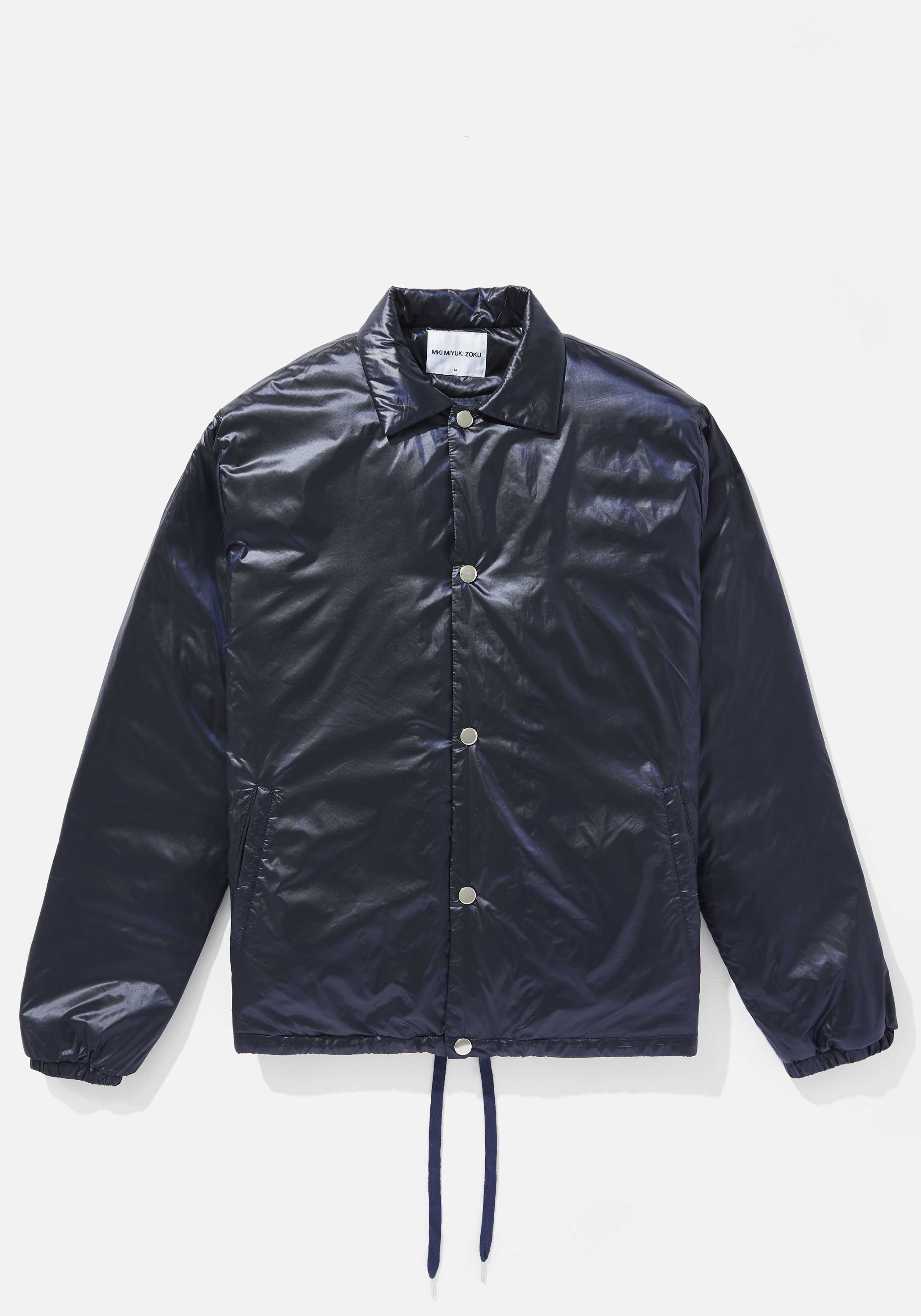 mki padded nylon coach jacket 1