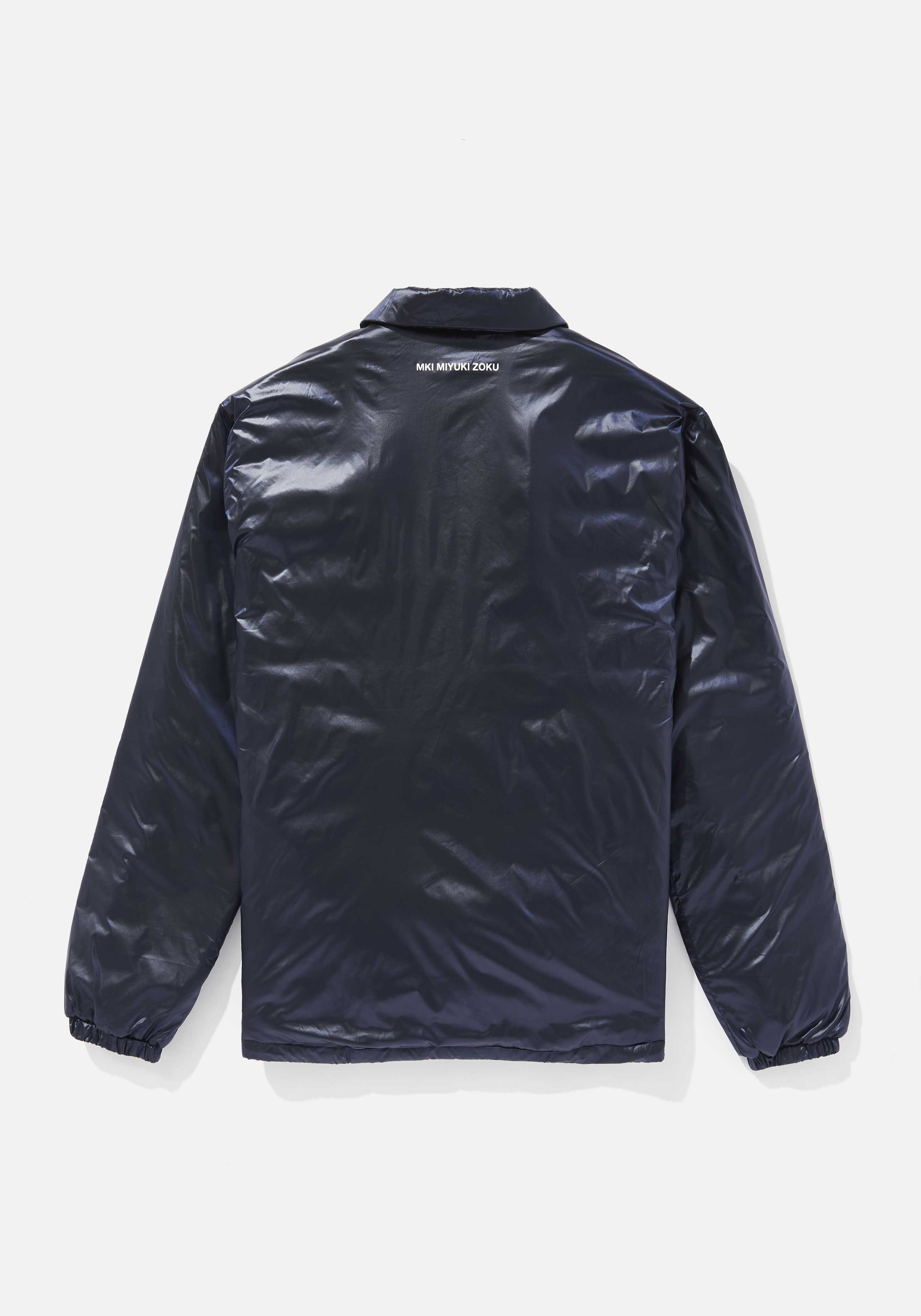 mki padded nylon coach jacket 2