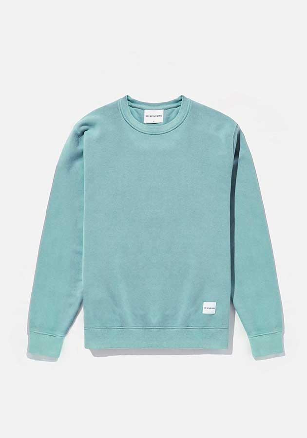 mki pigment dyed crewneck sweater