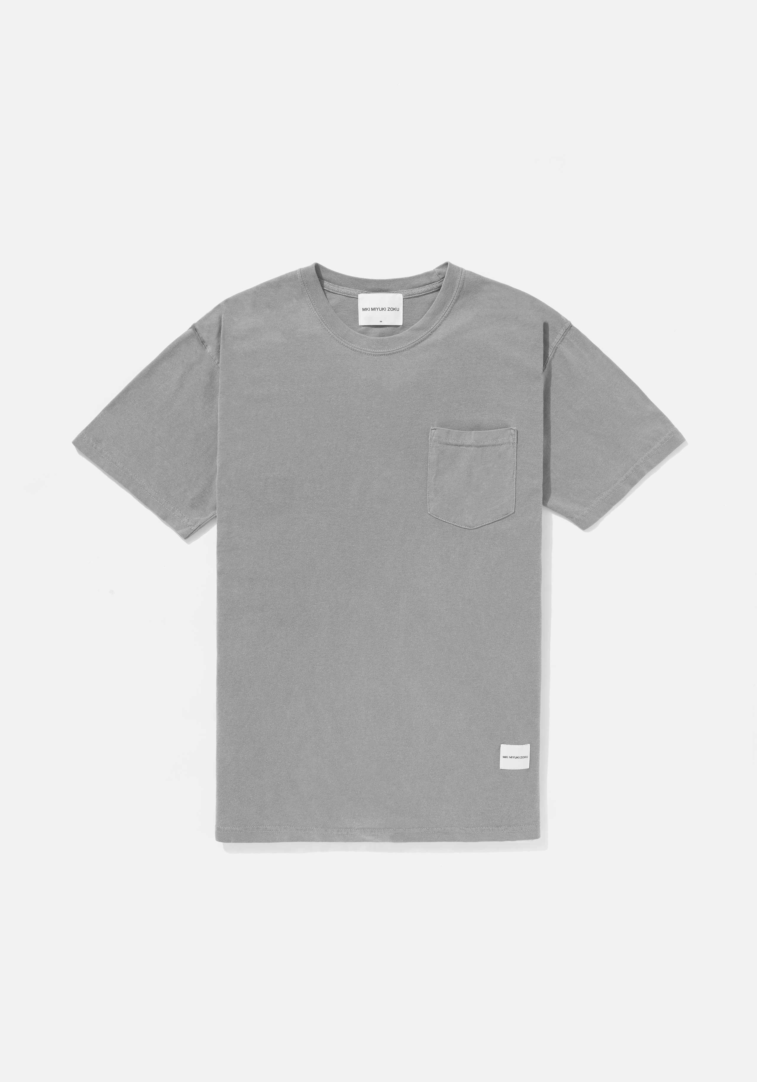 mki pigment dyed pocket tee 1