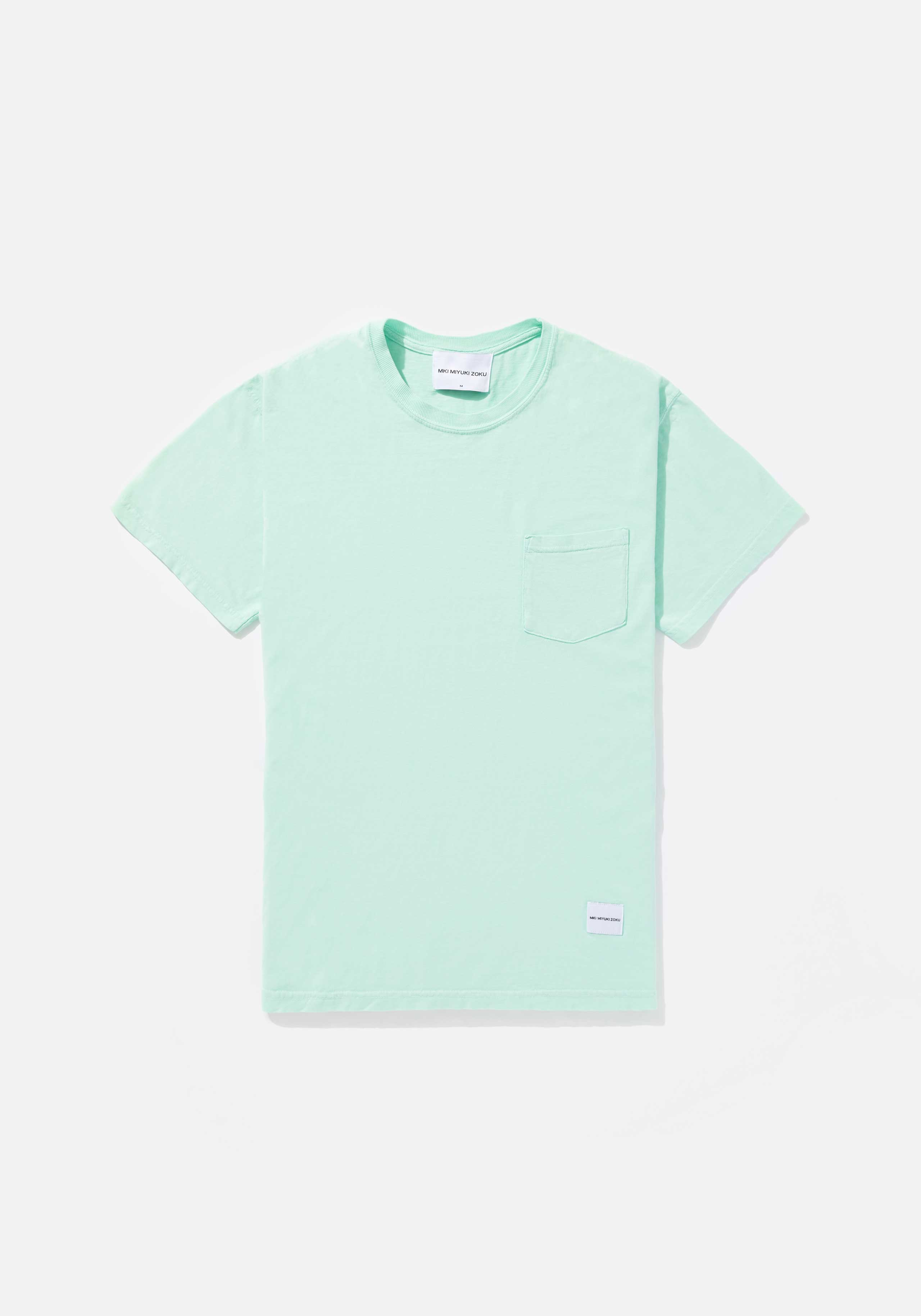 mki garment dyed pocket tee 1
