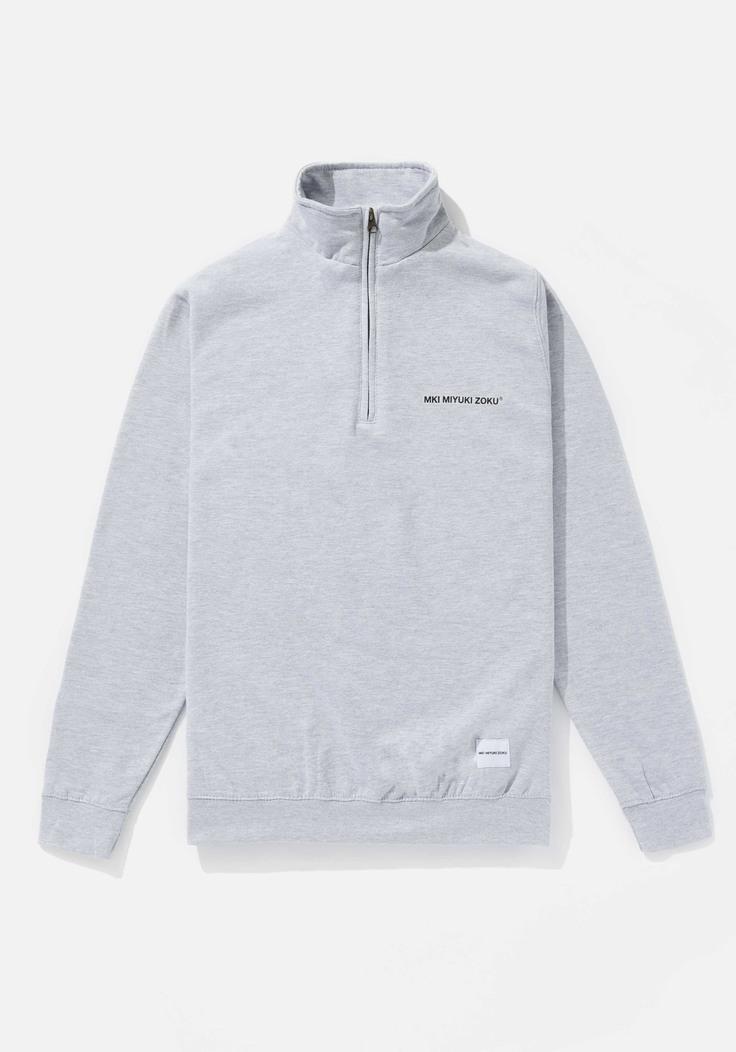 MKI REGISTERED LOGO QUARTER ZIP 1