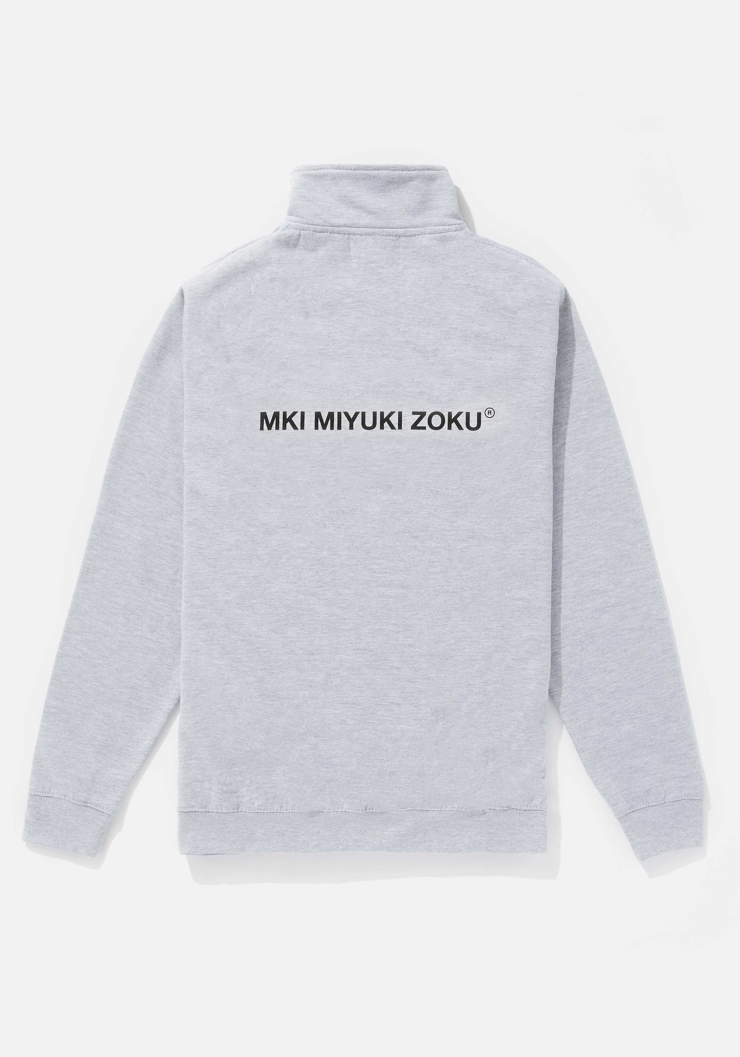 MKI REGISTERED LOGO QUARTER ZIP 2