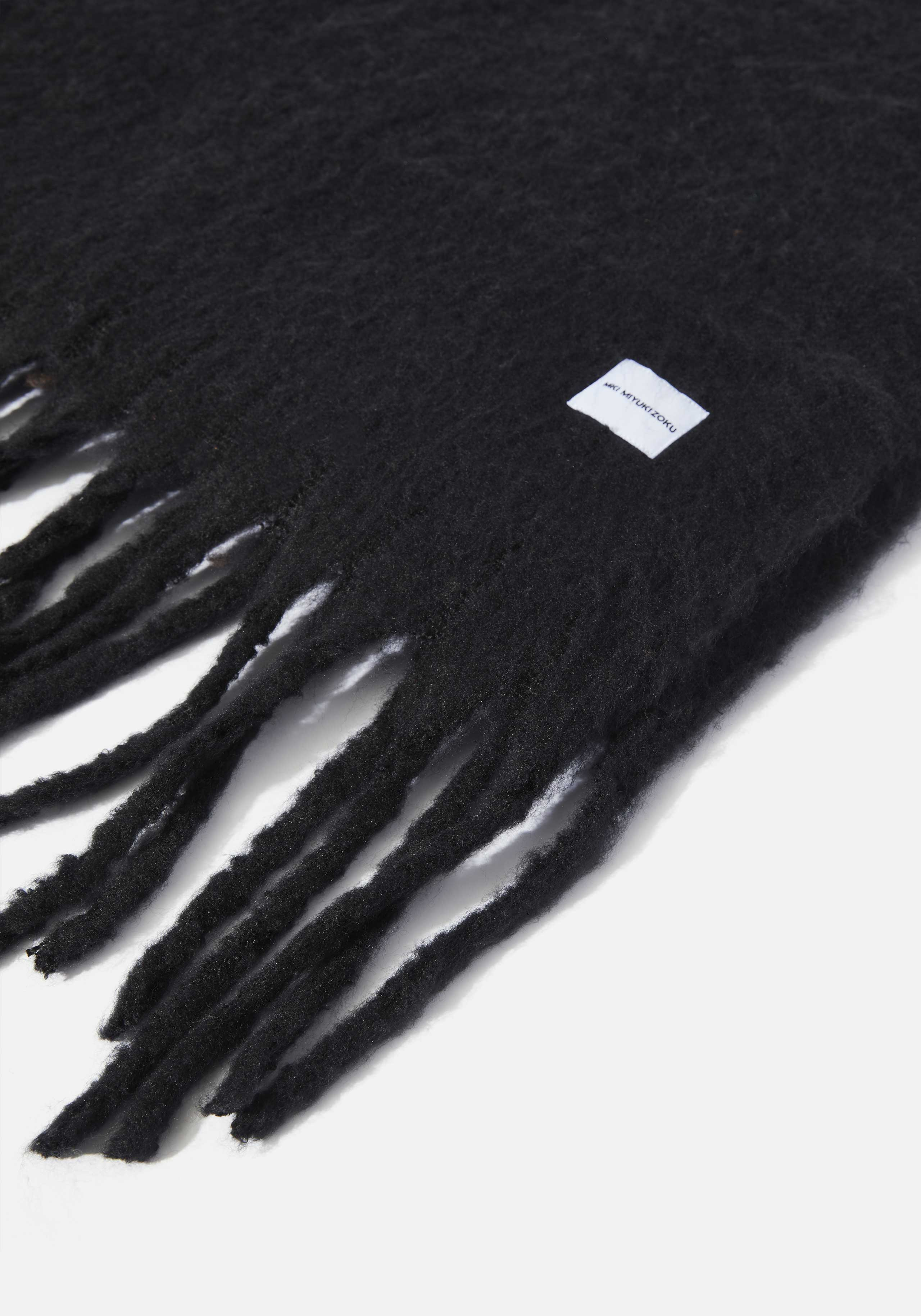 mki woven fringed scarf 4