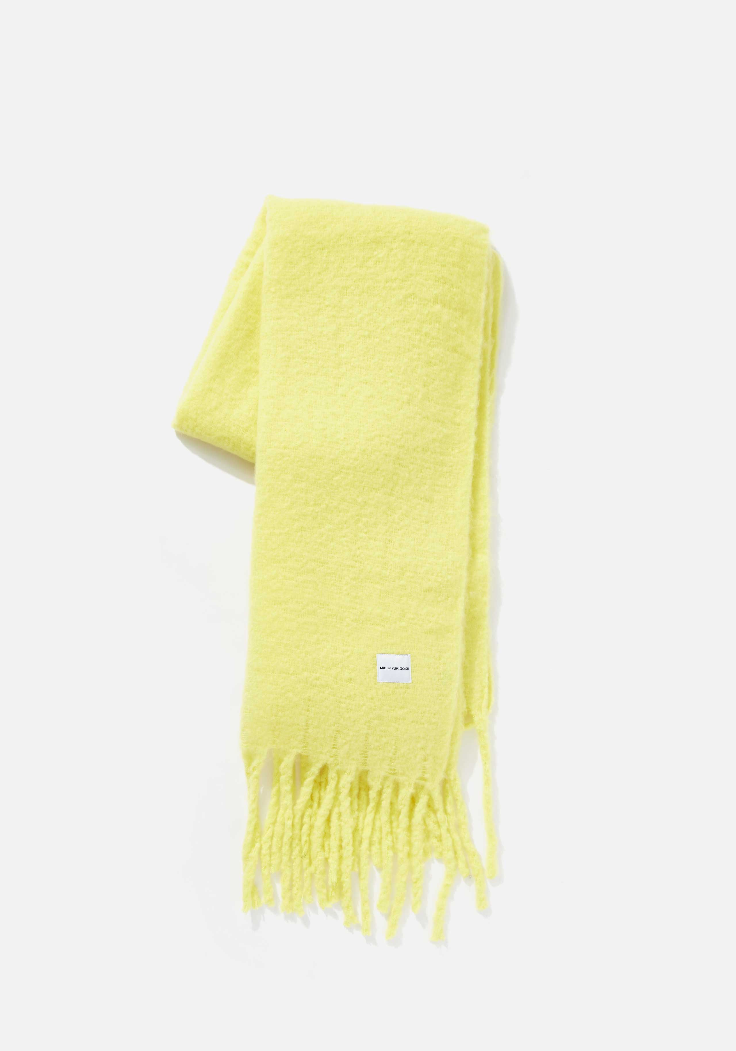 mki woven fringed scarf 1