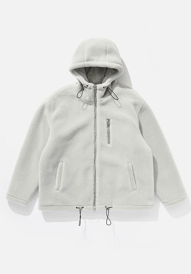 MKI SHERPA hooded jacket