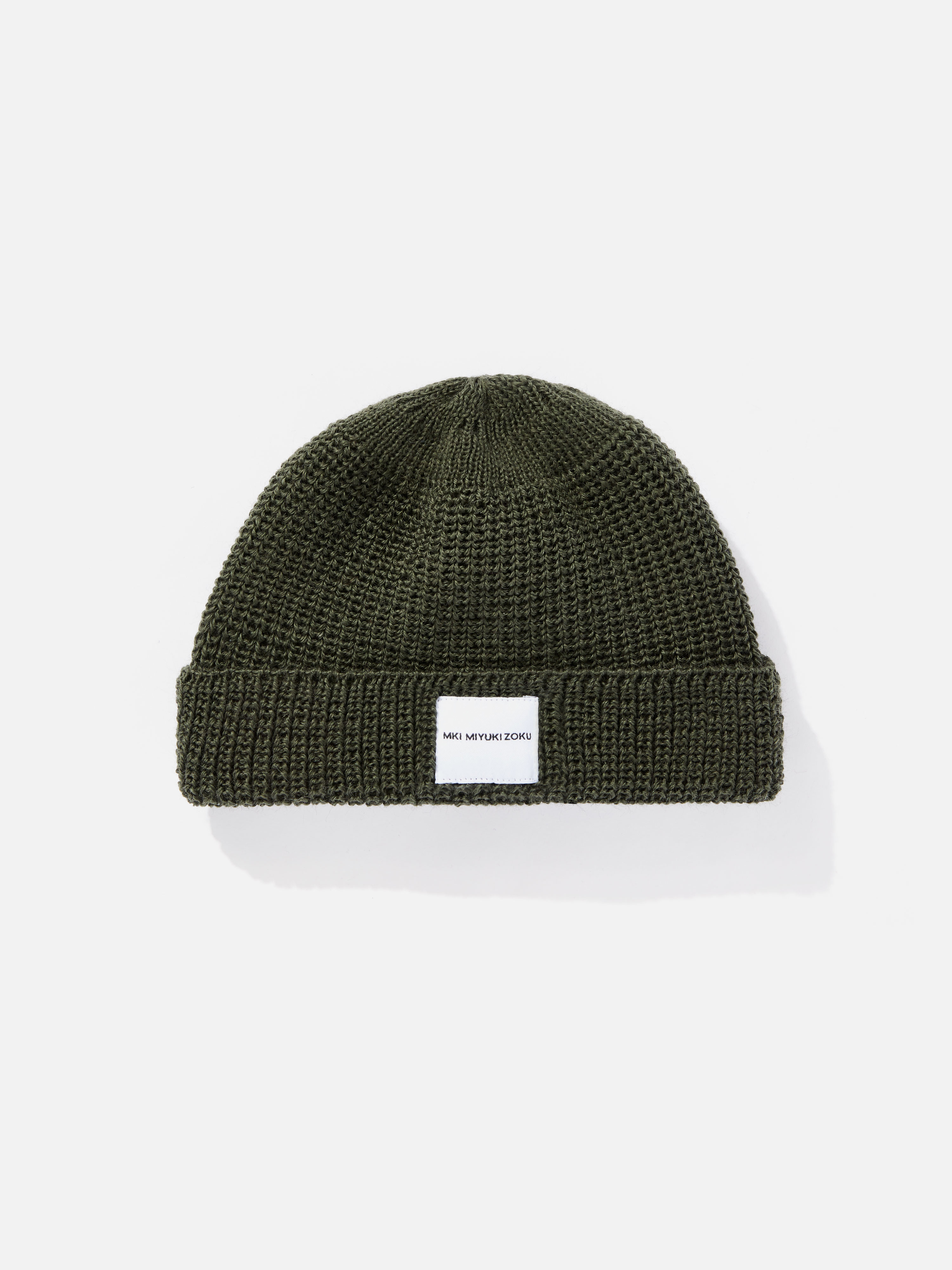 mki virgin wool watch cap short body 1