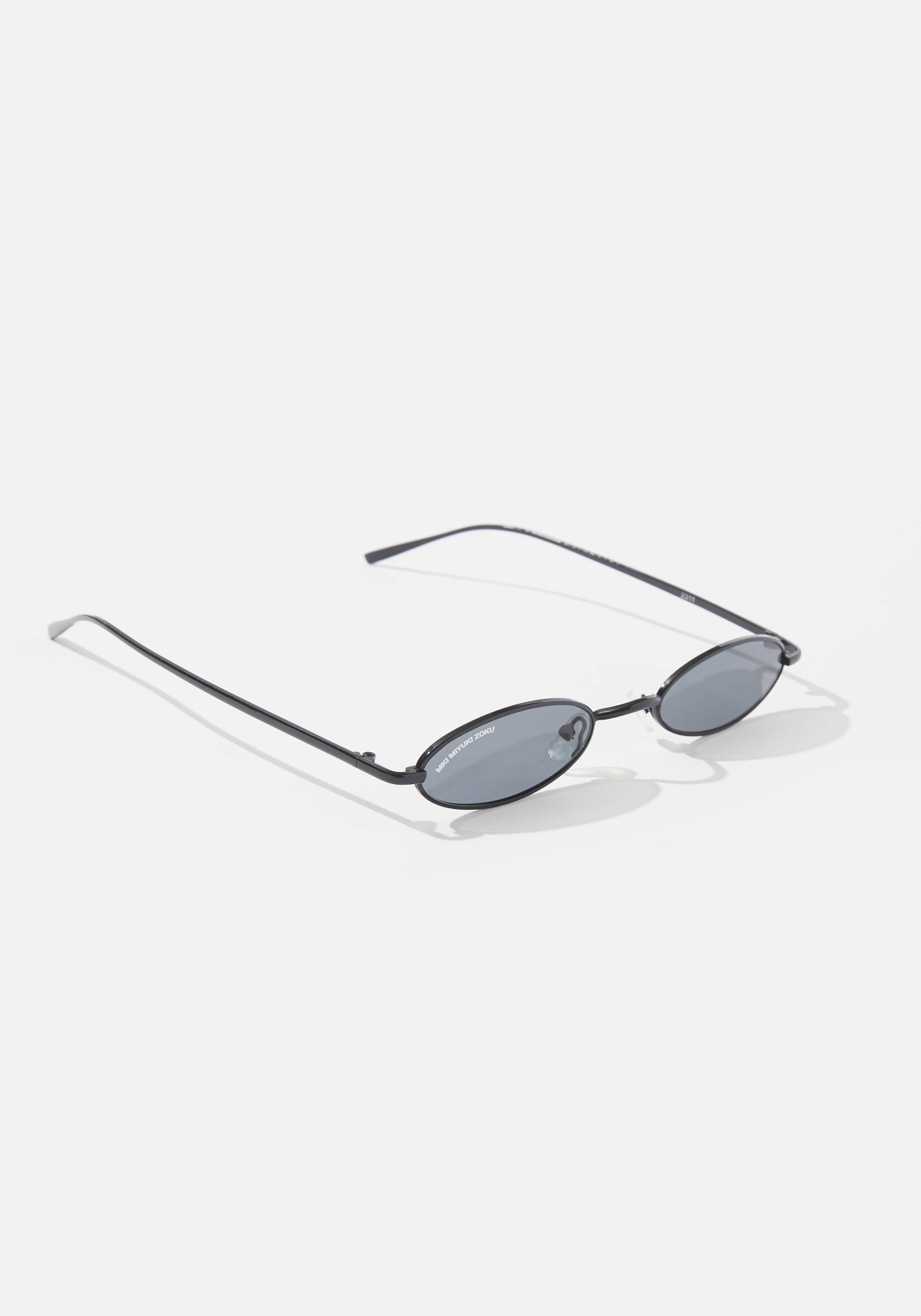 mki metal oval sunglasses 2