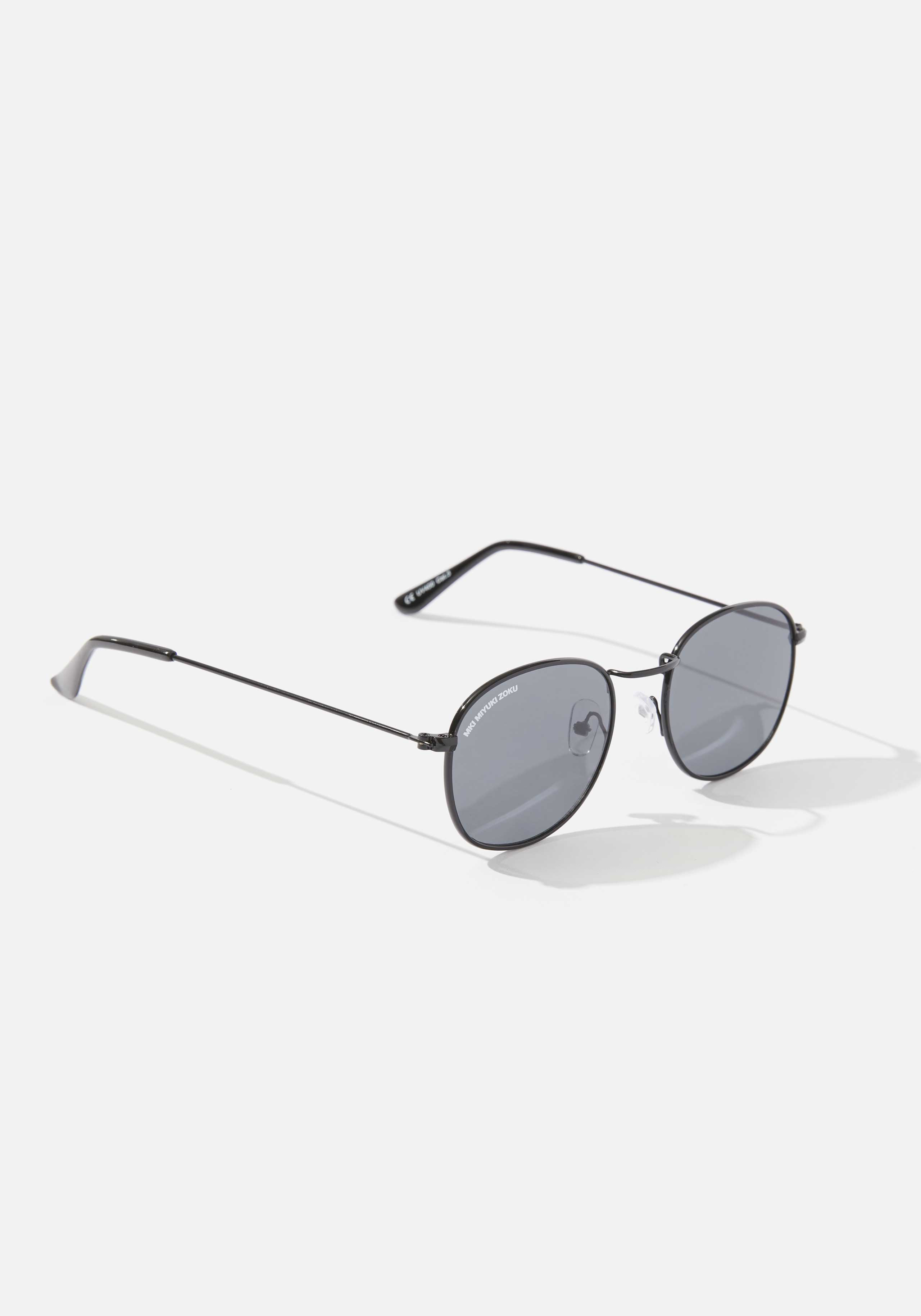 mki metal round sunglasses 2