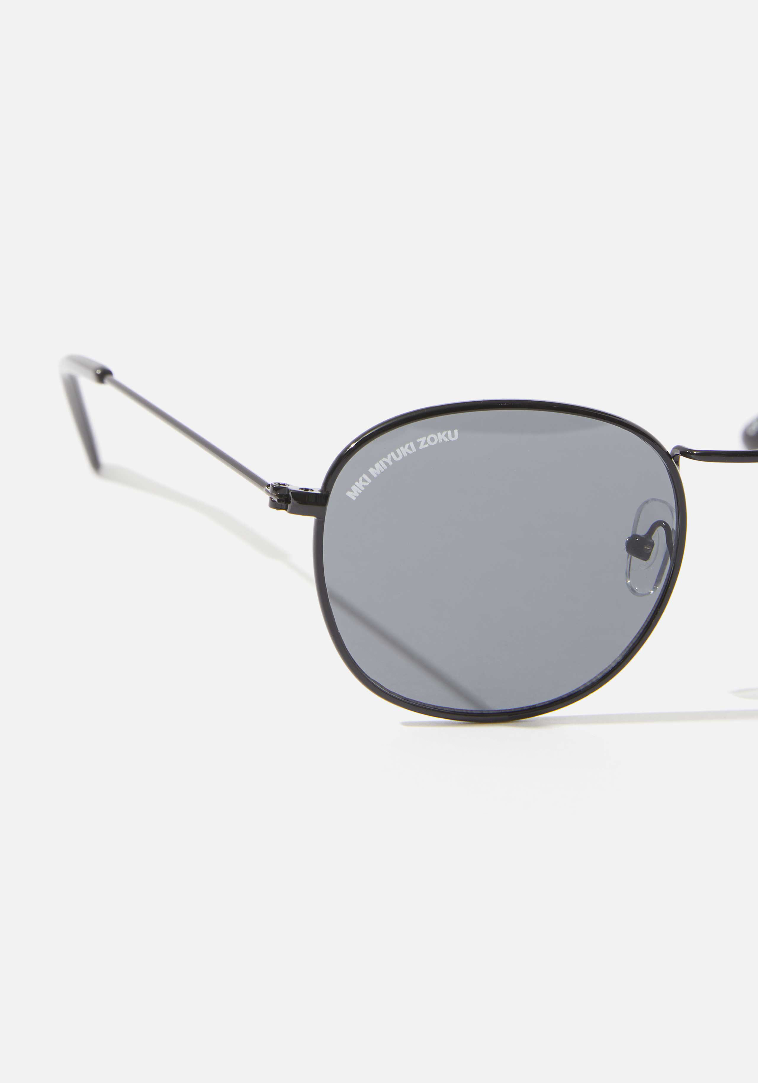 mki metal round sunglasses 3