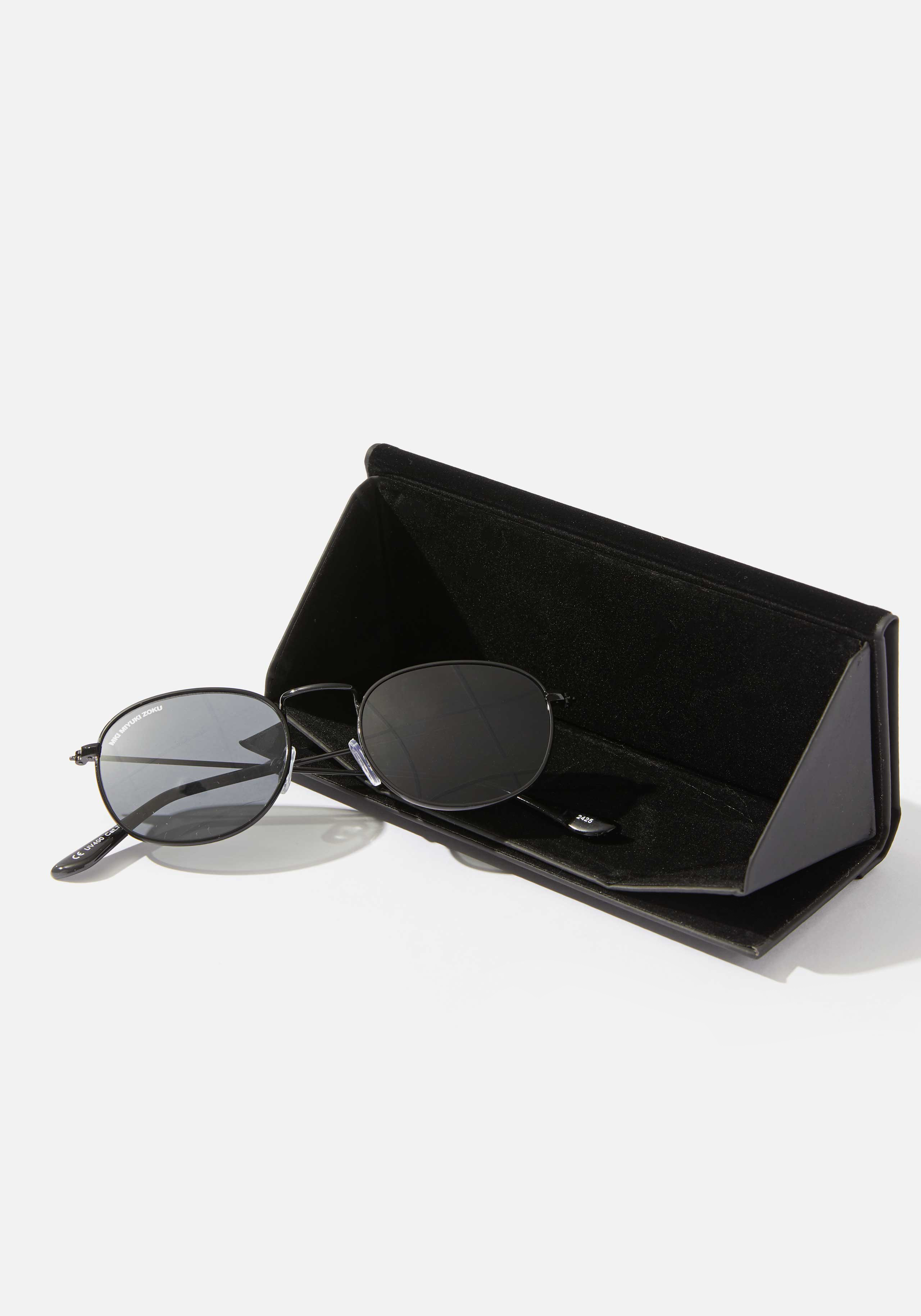 mki metal round sunglasses 4