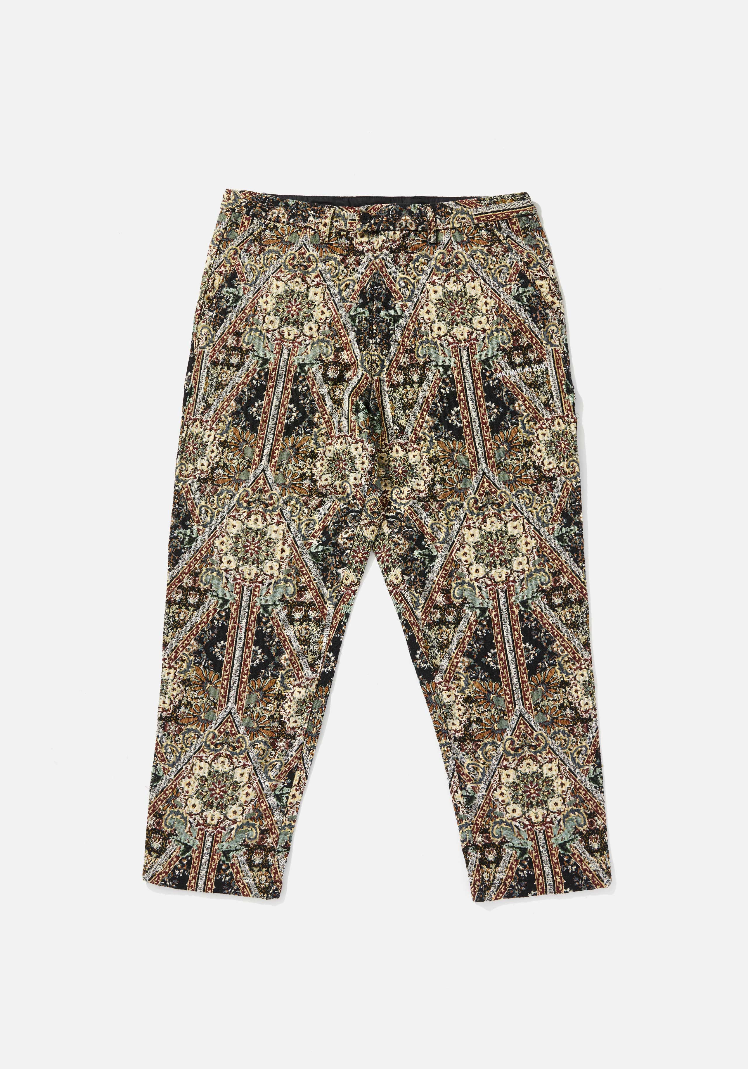 mki tapestry trousers 1