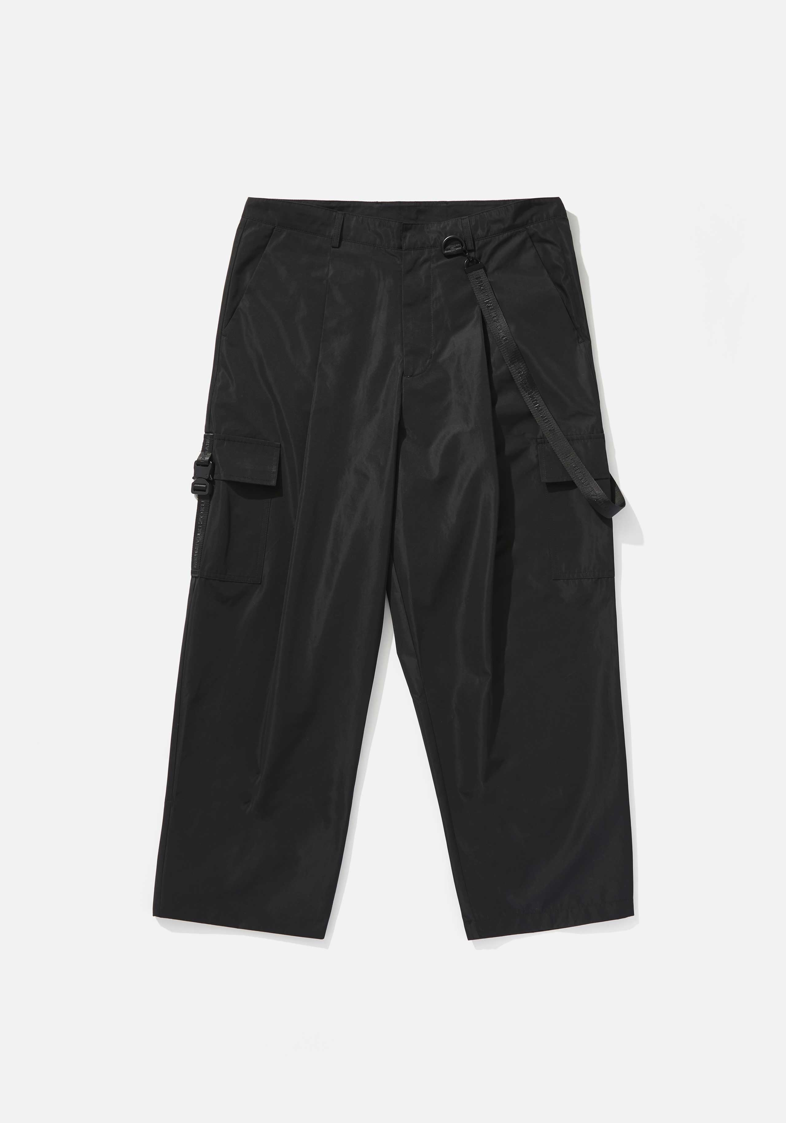 mki tech wide leg trousers 1