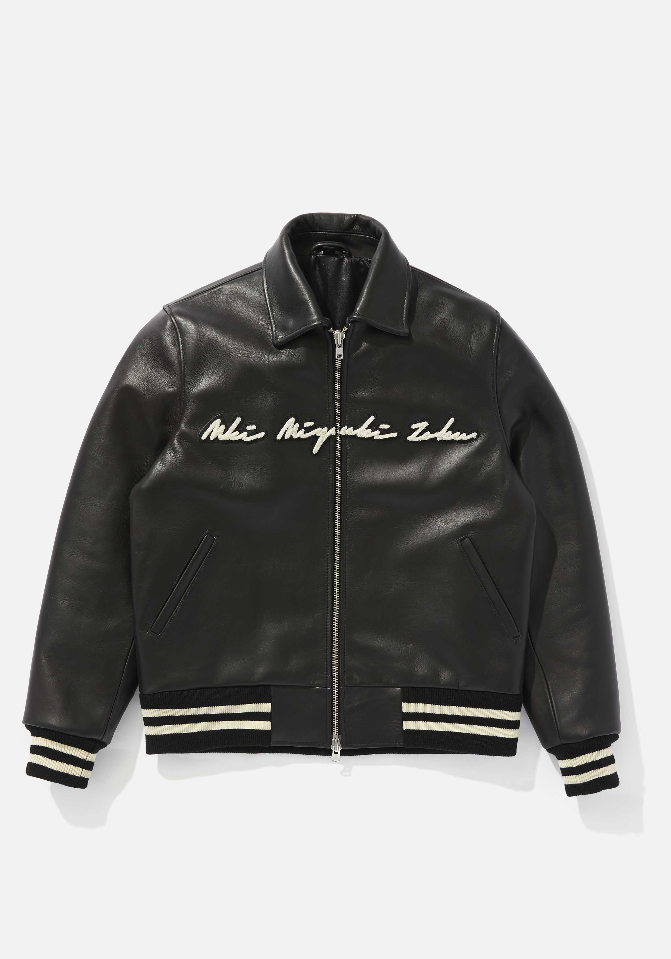 mki full leather rider varsity 1