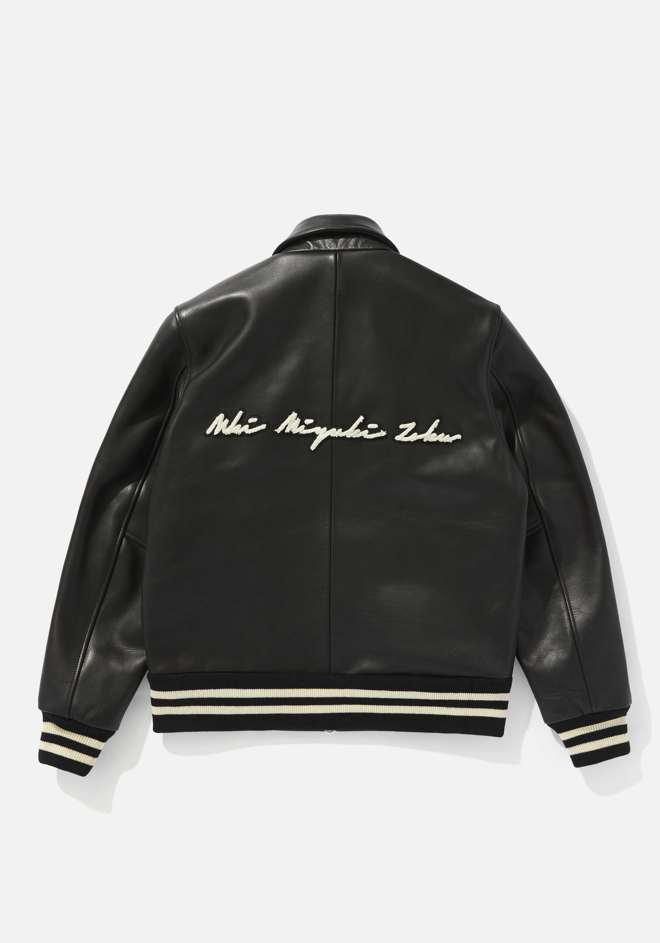 mki full leather rider varsity 2